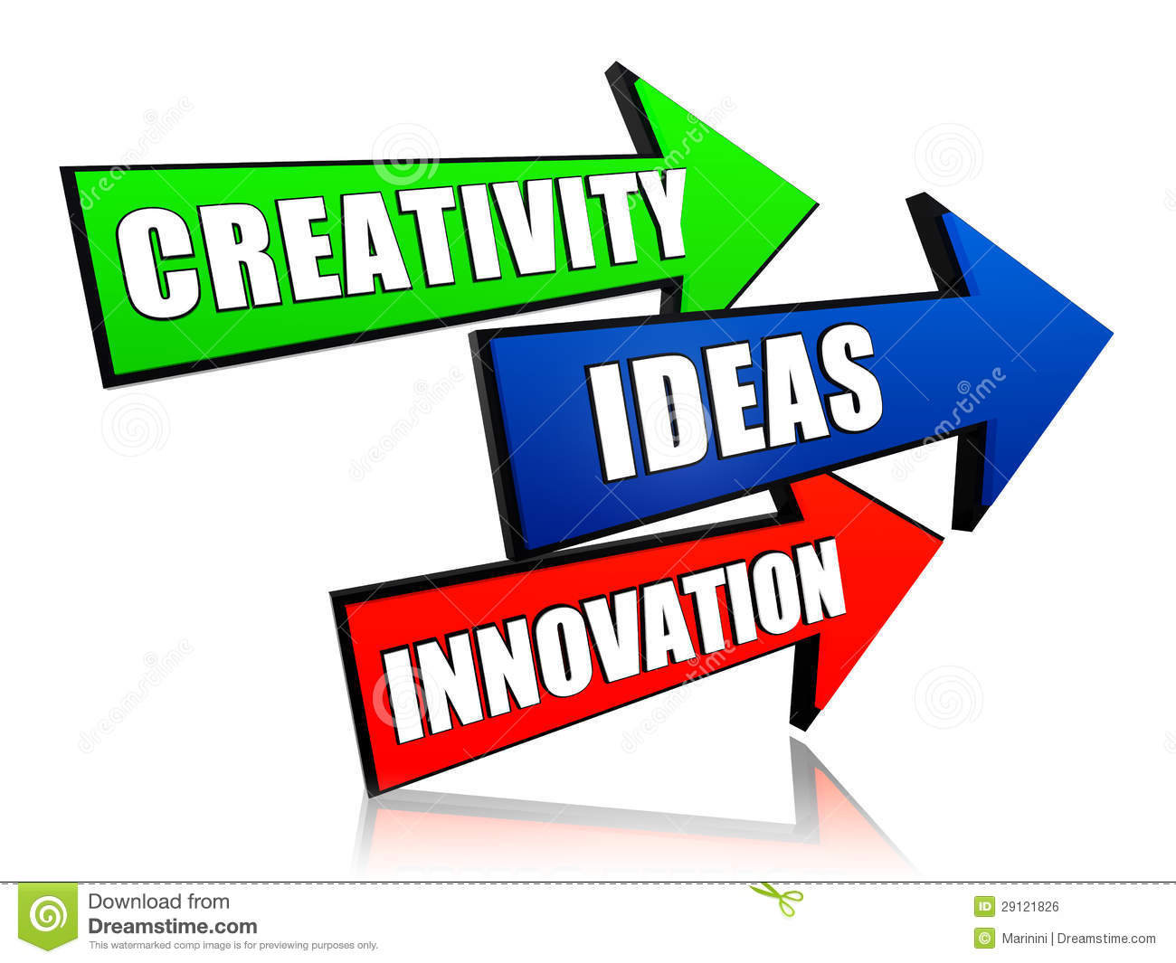 Cr ativit id e innovation dans les fl ches image libre for Idee innovation produit