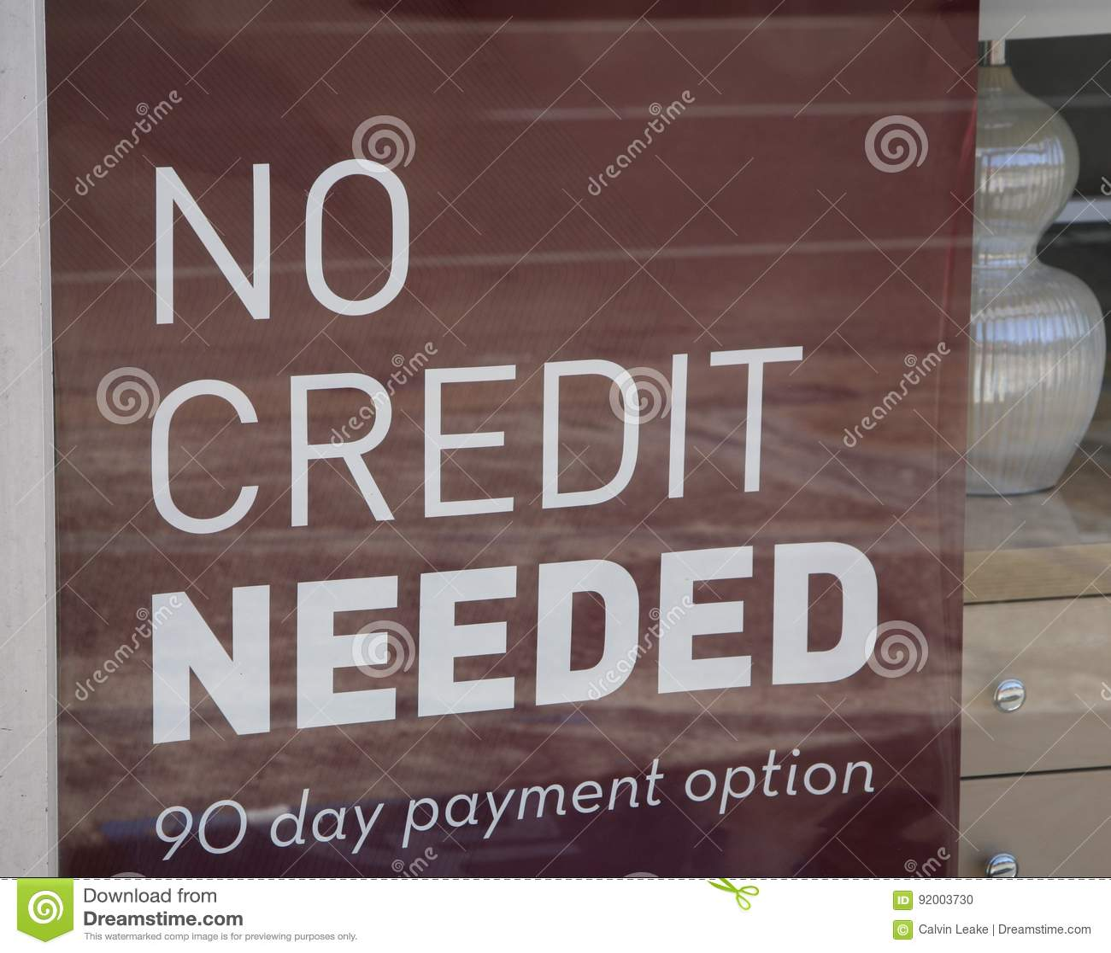 Crédit nul requis