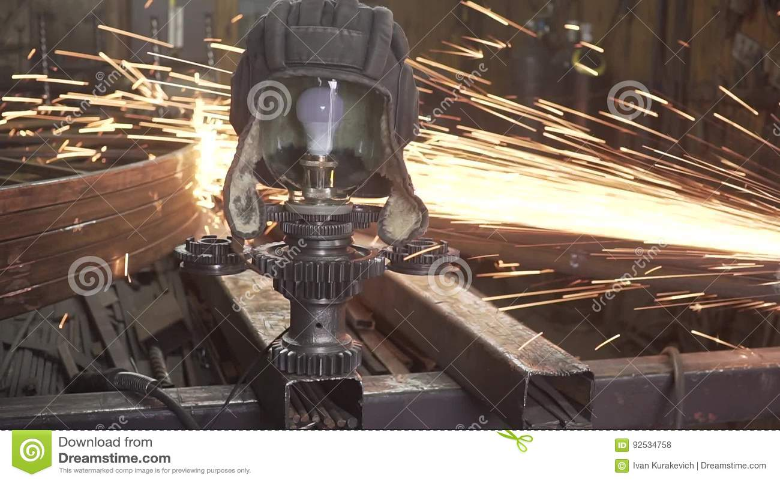 crez lintrieur dans le style du steampunk vintage industriel production de la lampe du s de bateau citerne banque de vidos vido du mcanisme