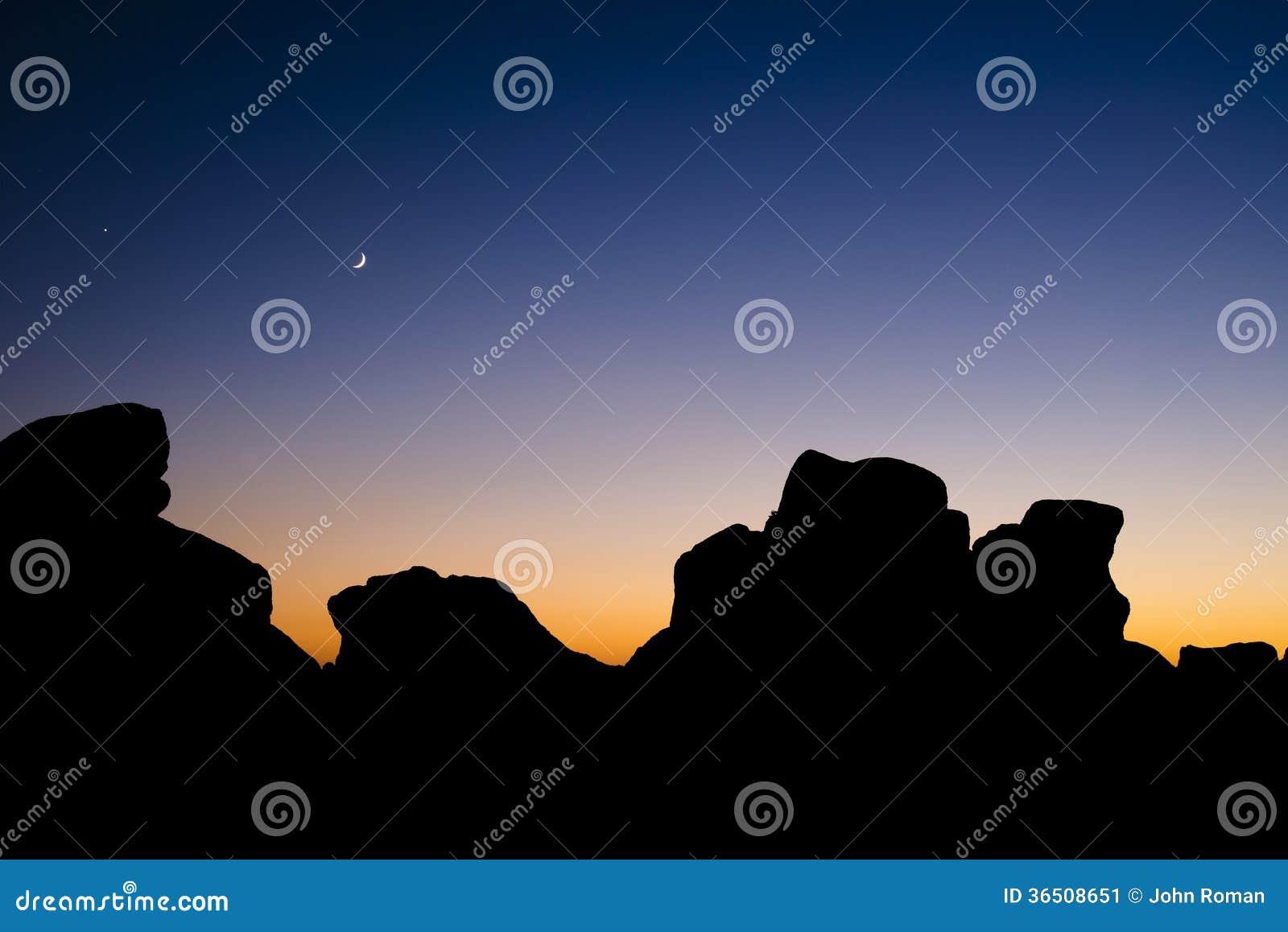 Crépuscule de Carmel