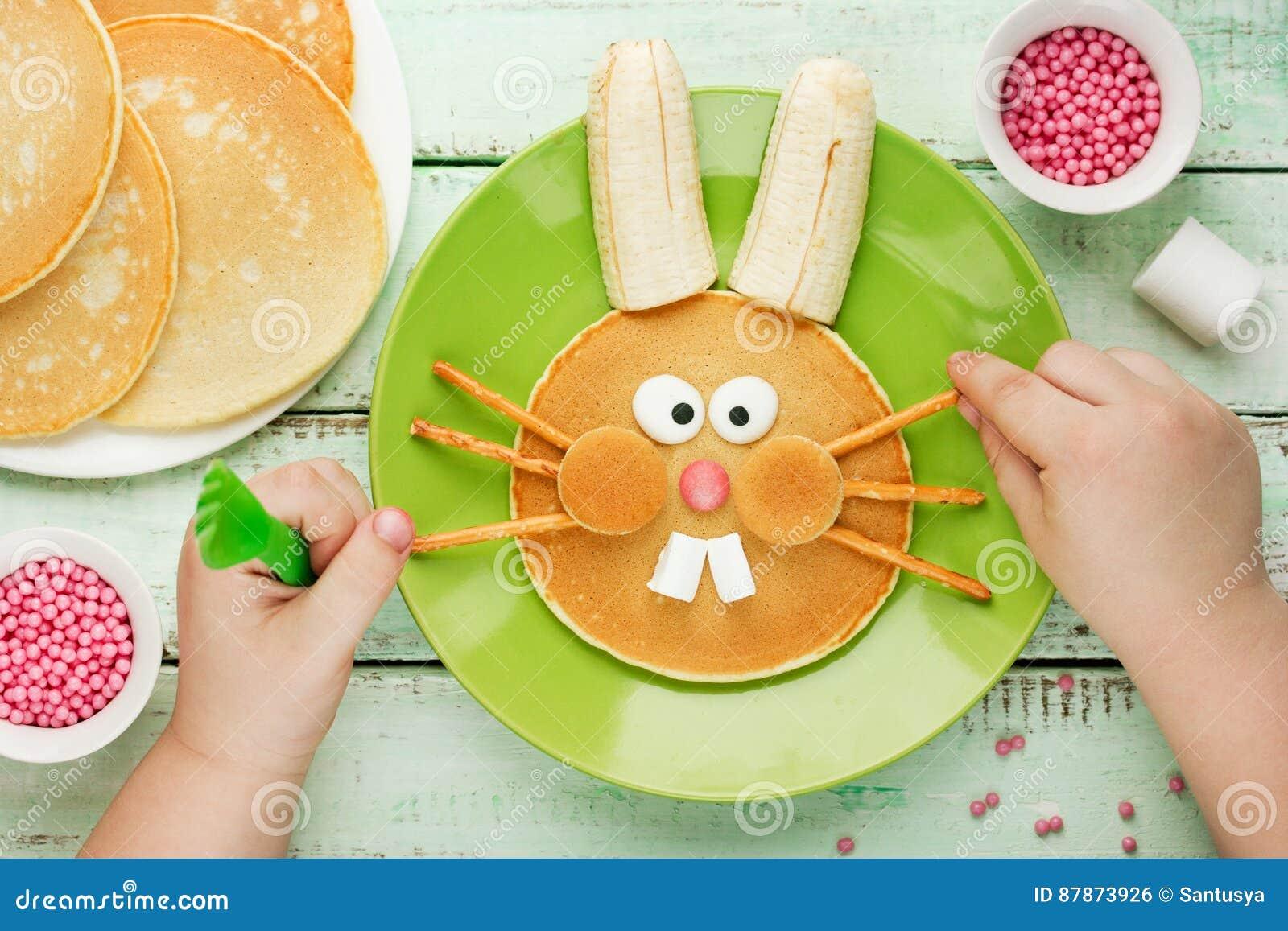Crêpes de lapin de Pâques