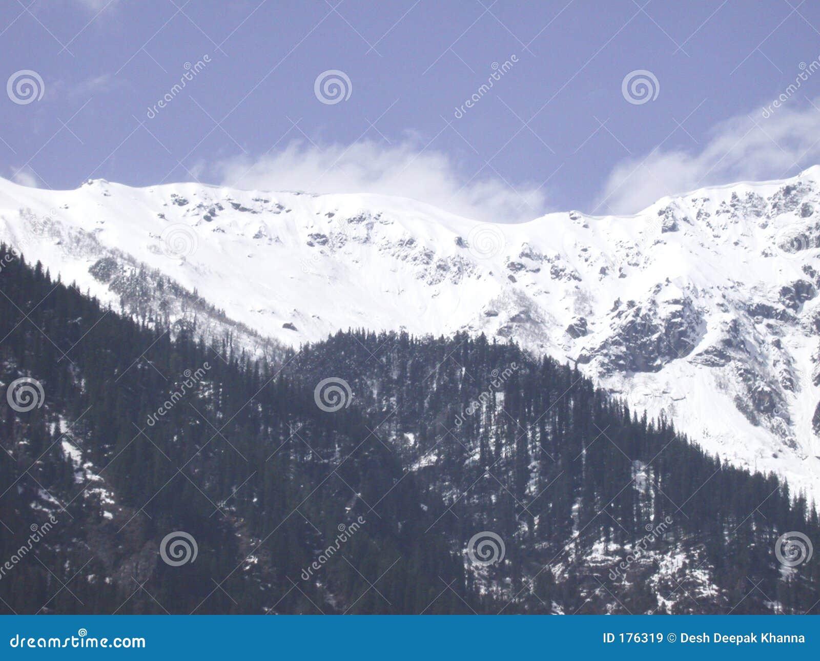 Crêtes de Manali_snow