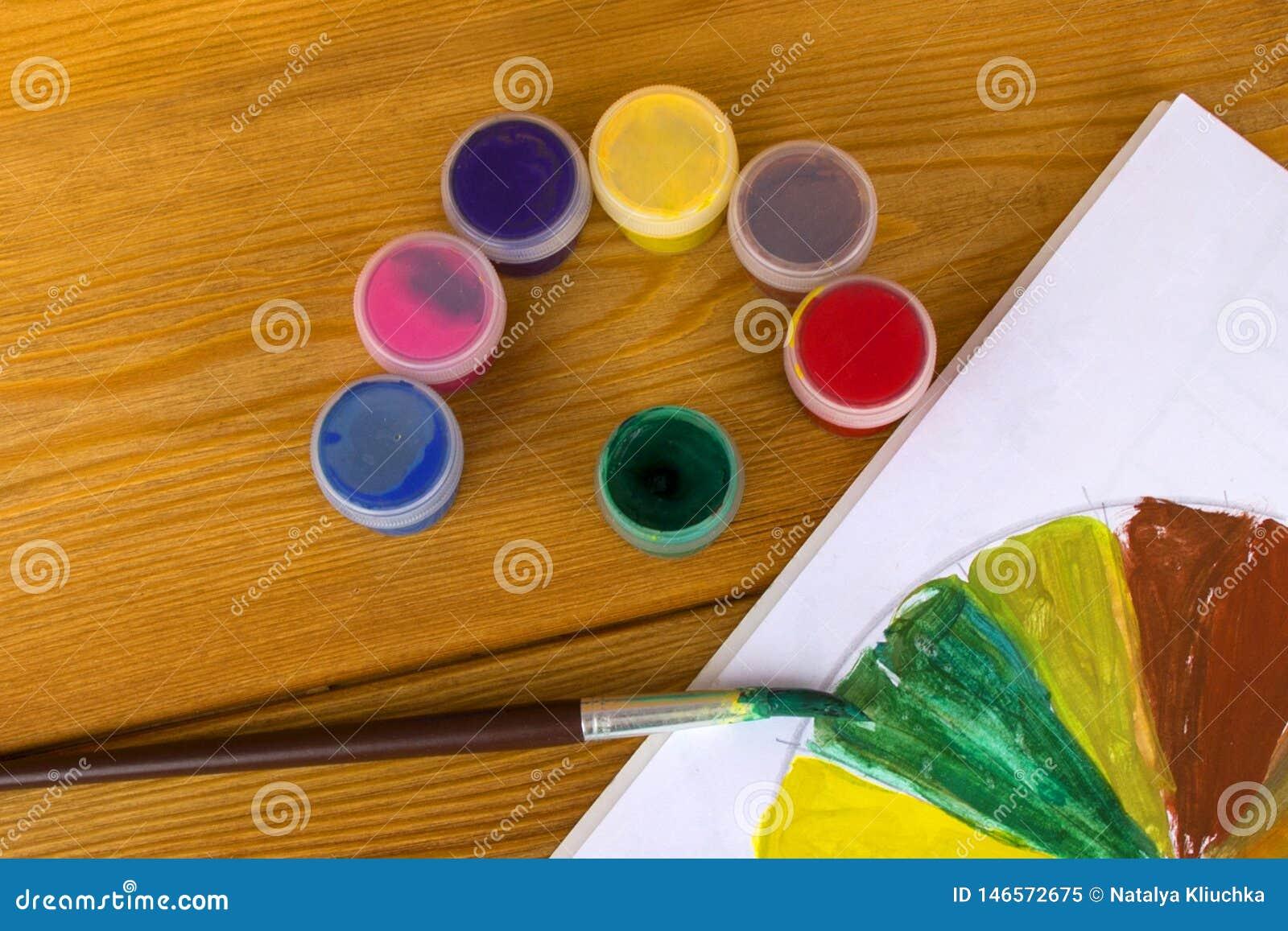 Crativit Du S Denfants Peintures De Dessin 12 Couleurs