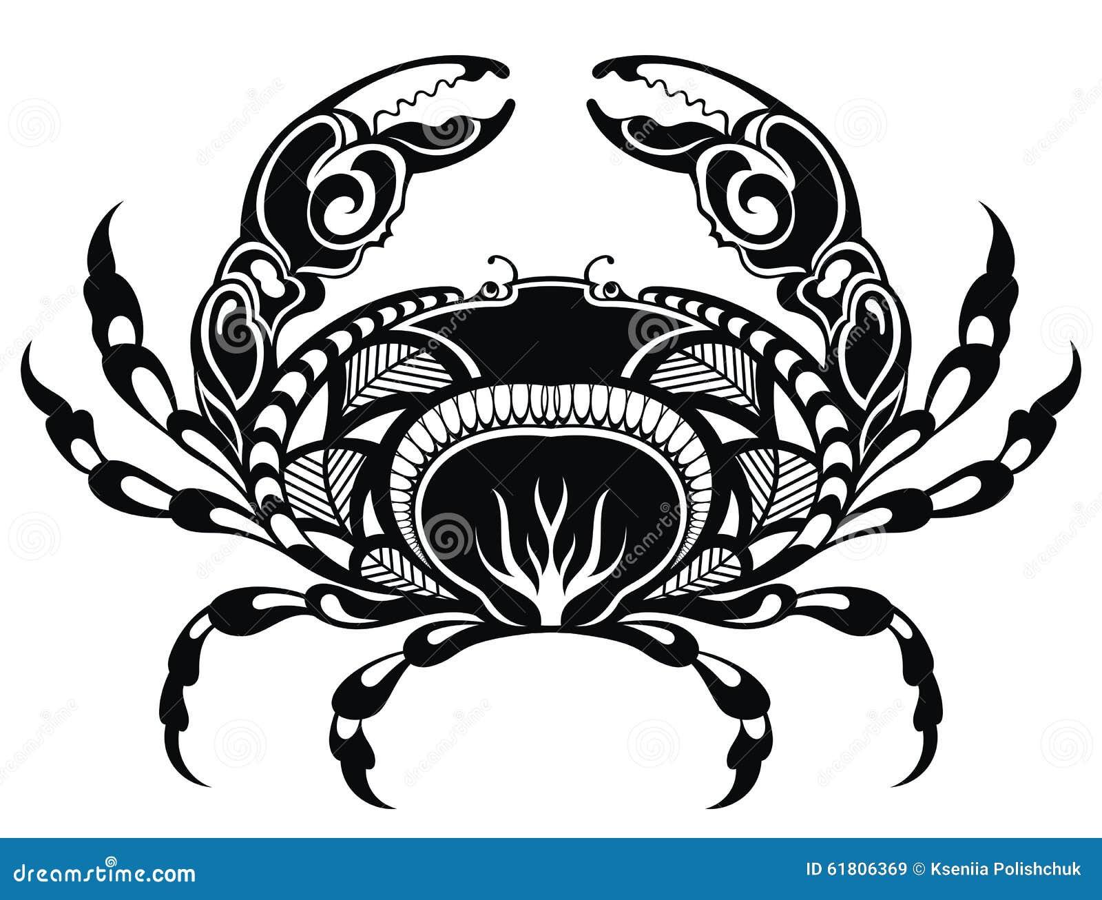 Blue Crab Design Logo