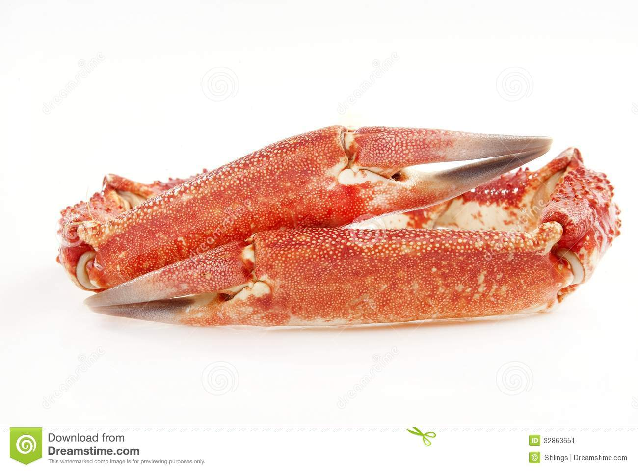 how to eat crab claws