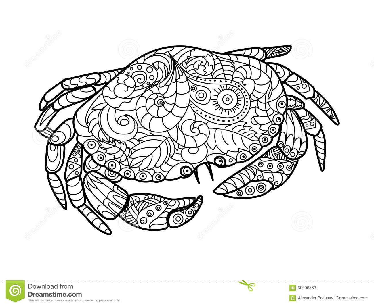 crab coloring pages beautiful click the crab coloring pages with