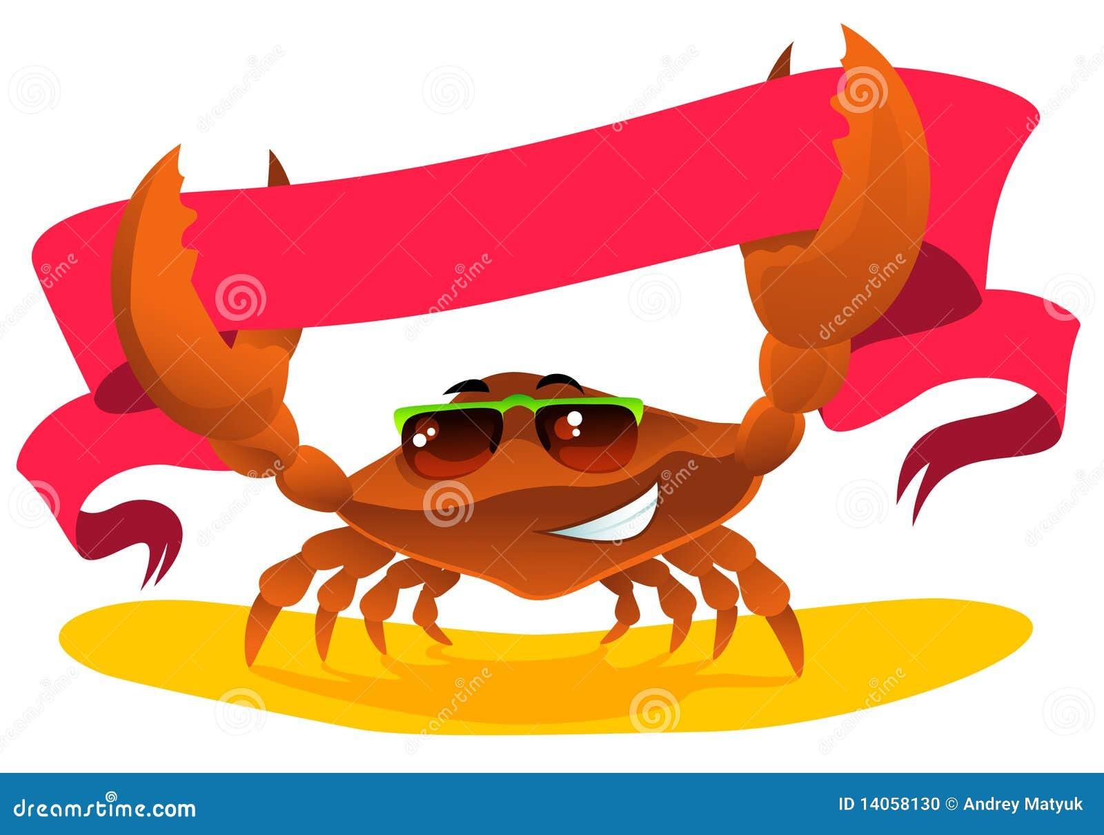 Crab com fita