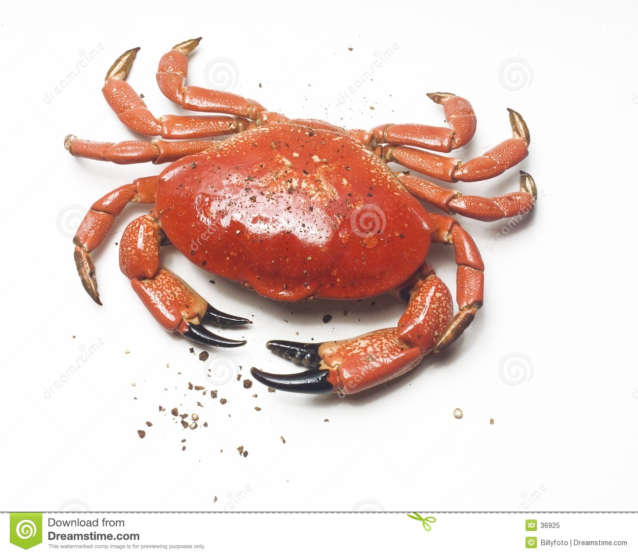 Crab and pepper