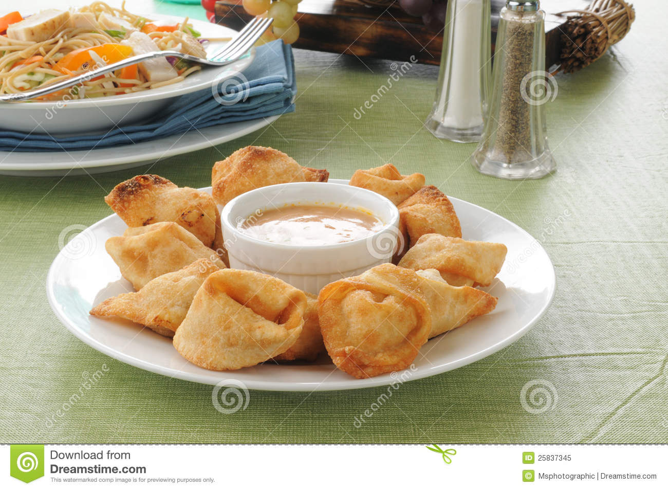 Crab Rangoon Salad