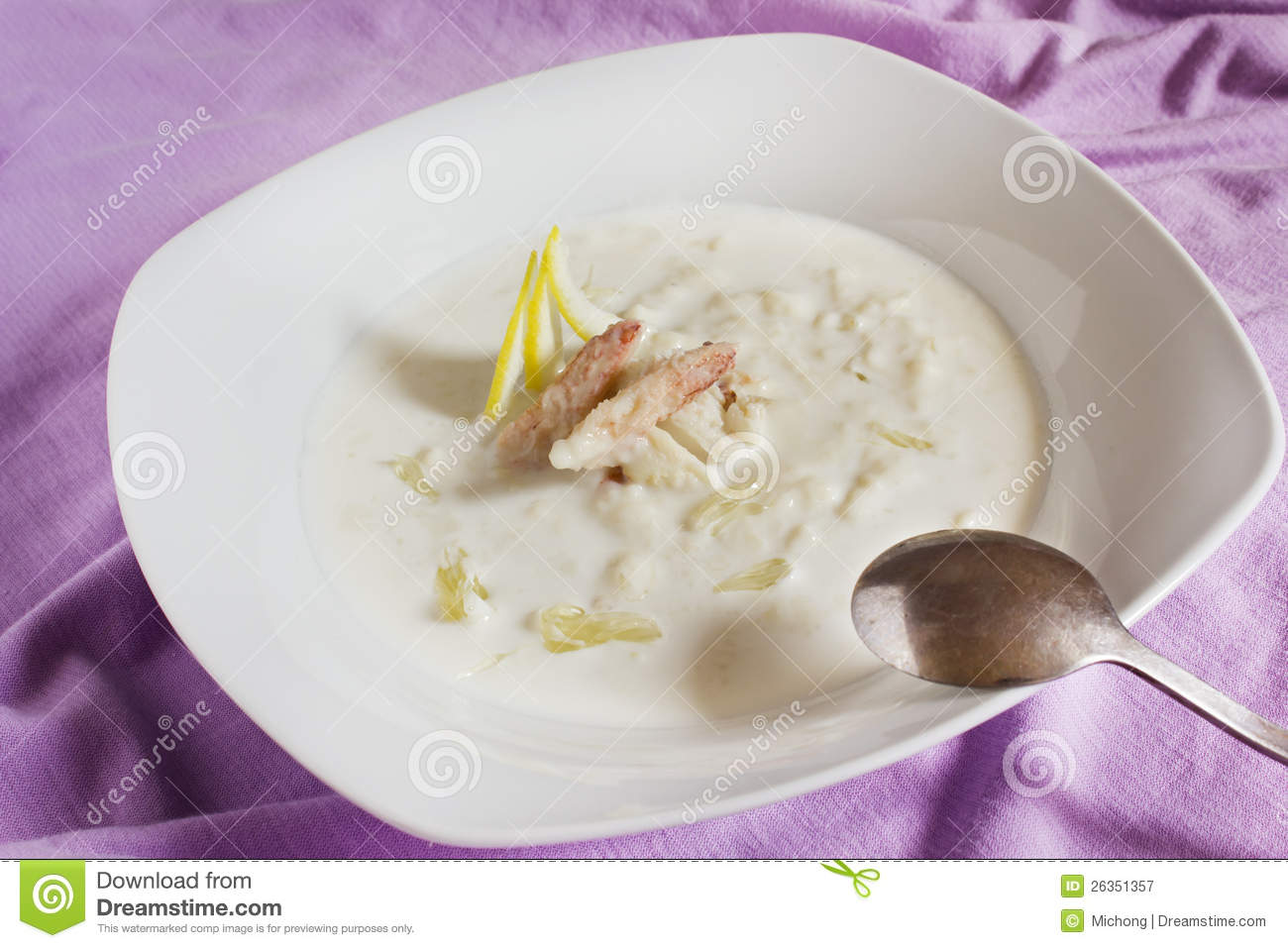 Crab Soup Royalty Free Stock Photography - Image: 26351357