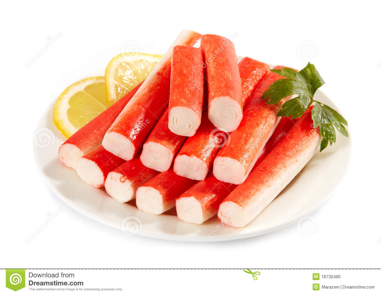 Crab Sticks Stock Photo - Image: 18730480