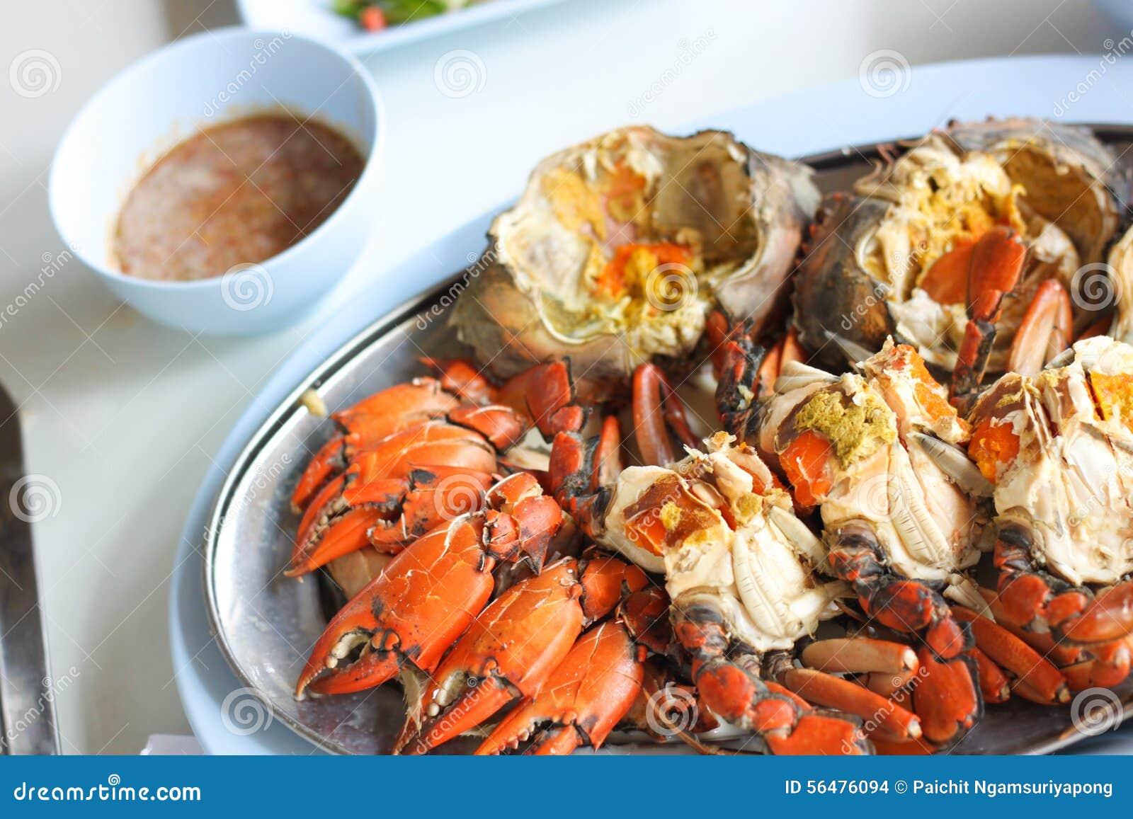 Crabe brûlé de mer