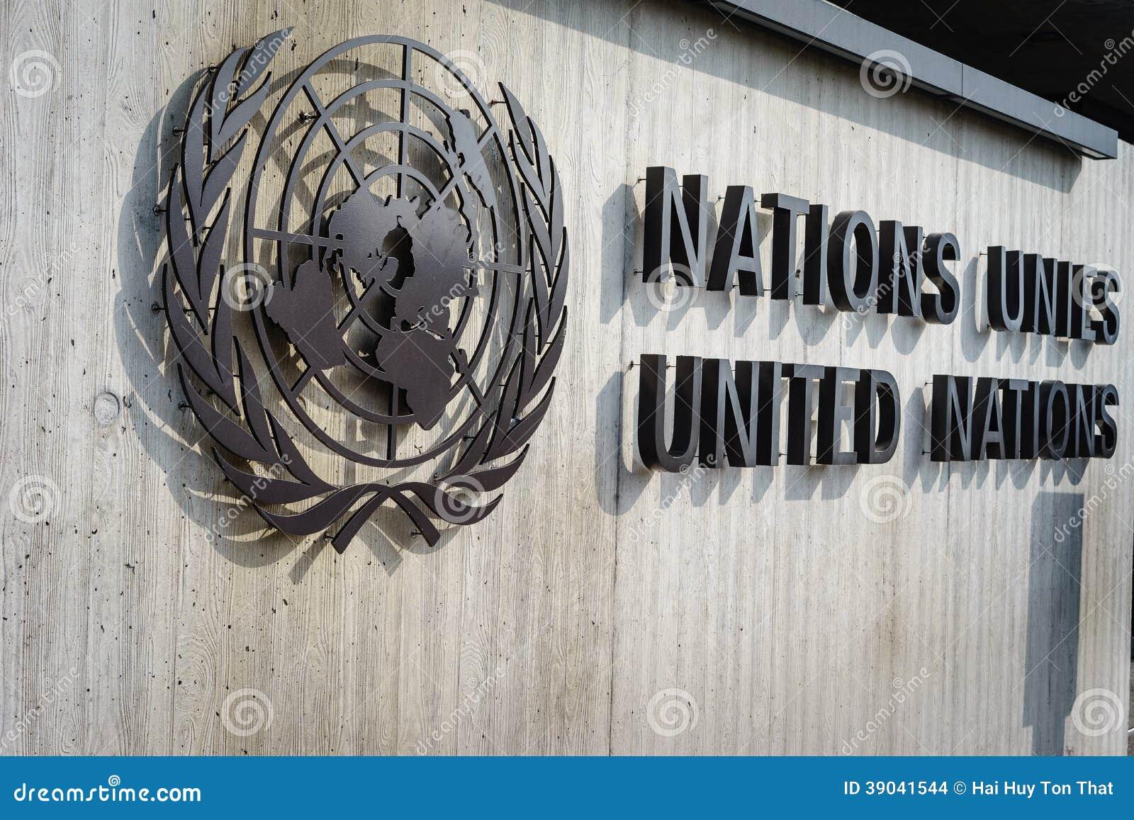 Crachá de United Nations em Genebra