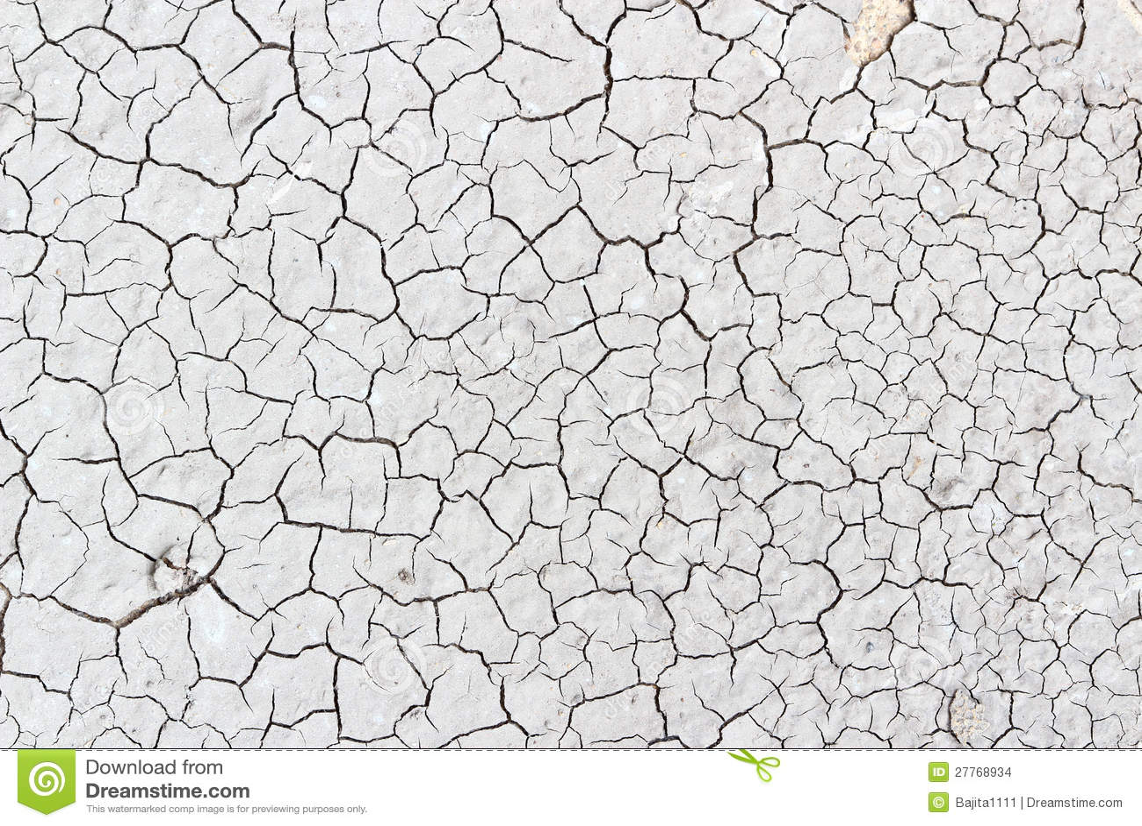 Crack Soil On Dry Seas...