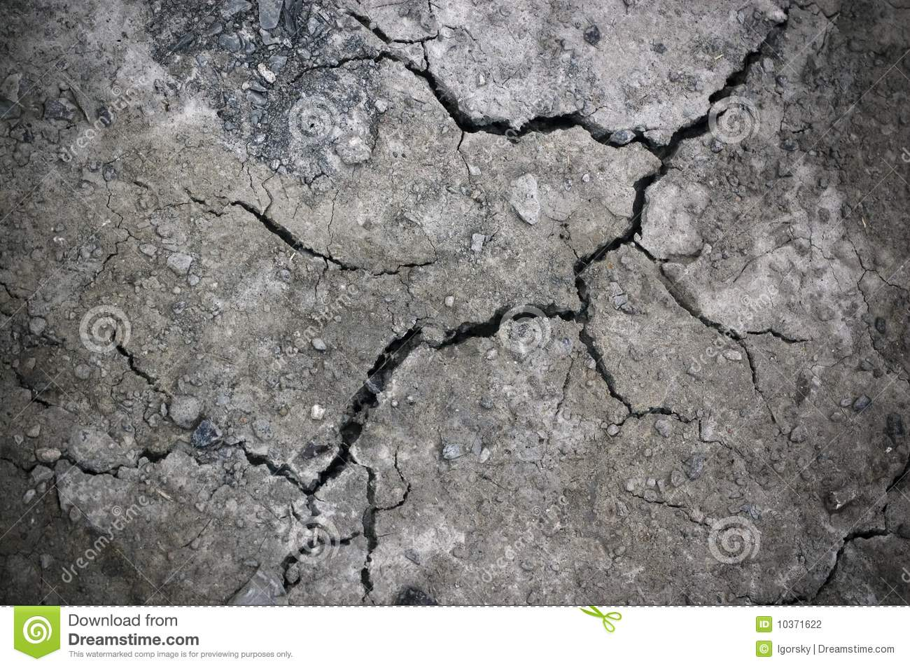 Crack At Stone Wall Stock Photo Image Of Scary Scratched