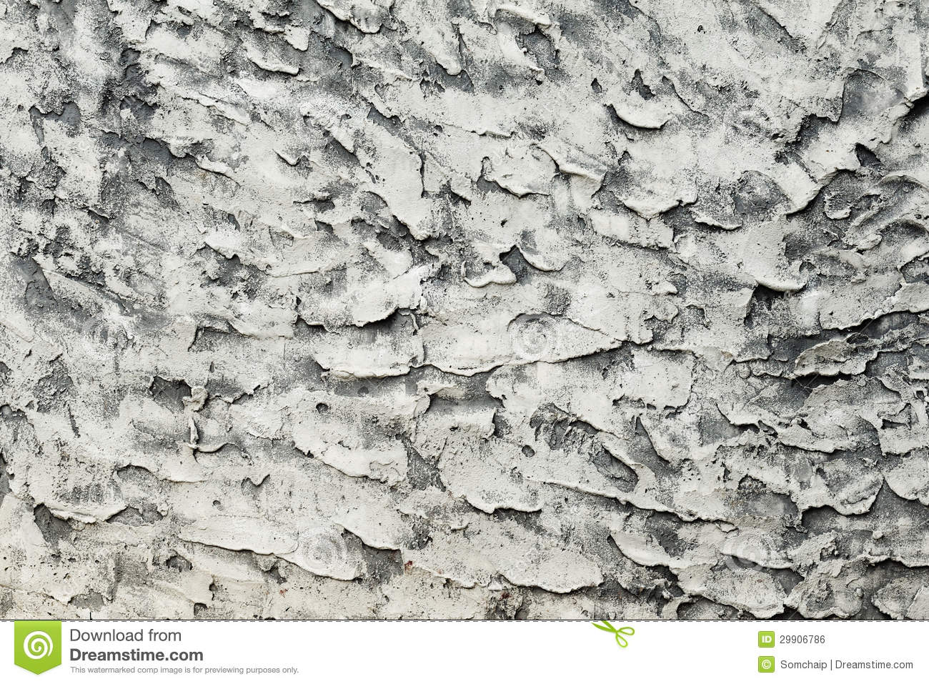 Cracked Concrete Wall Royalty Free Stock Image Image