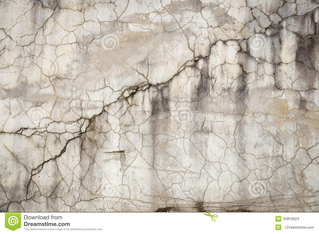 Cracked concrete wall texture background stock photo for Old concrete wall texture