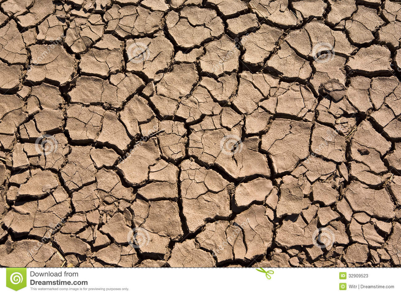 Cracked Earth Stock Photos - Image: 32909523