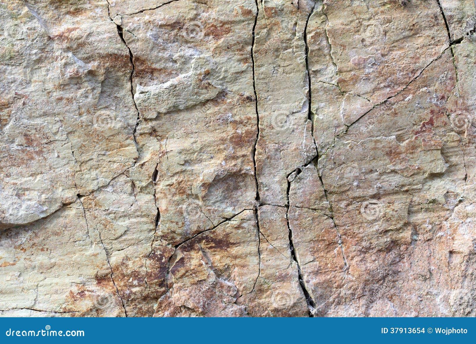 Weathered Granite Stone : Cracked granite stone texture stock images image