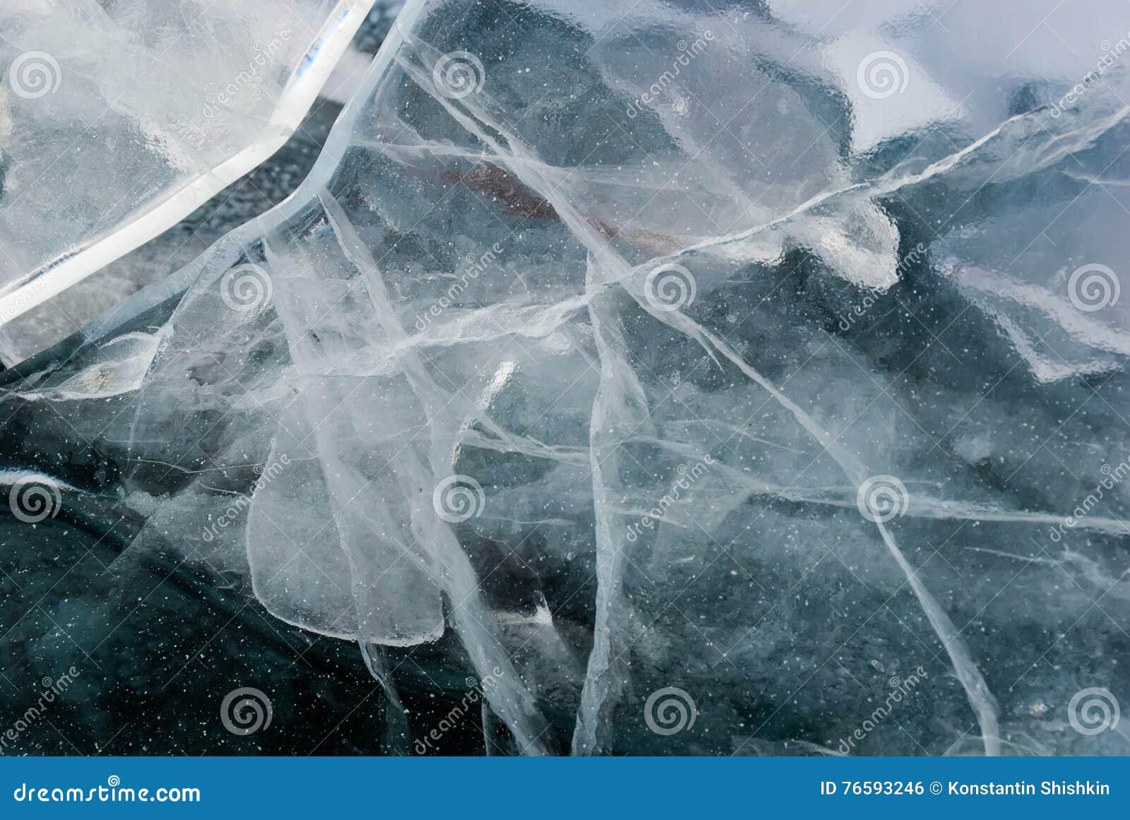 Cracked Ice Background Stock Photo Image Of Macro