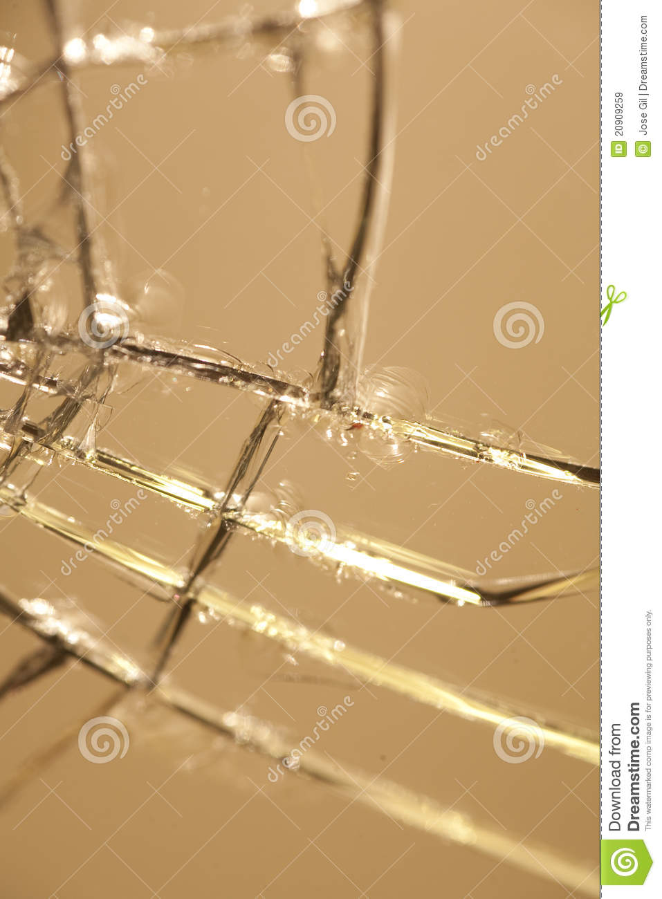 Cracked Mirror Stock Image Image Of Mirror Luck