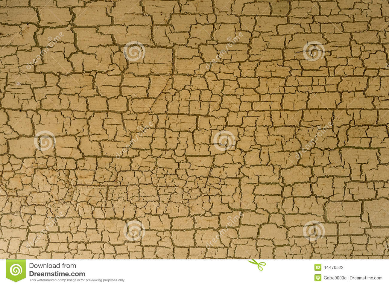 Cracked Paint Effect On Wall Stock Photo - Image: 44470522
