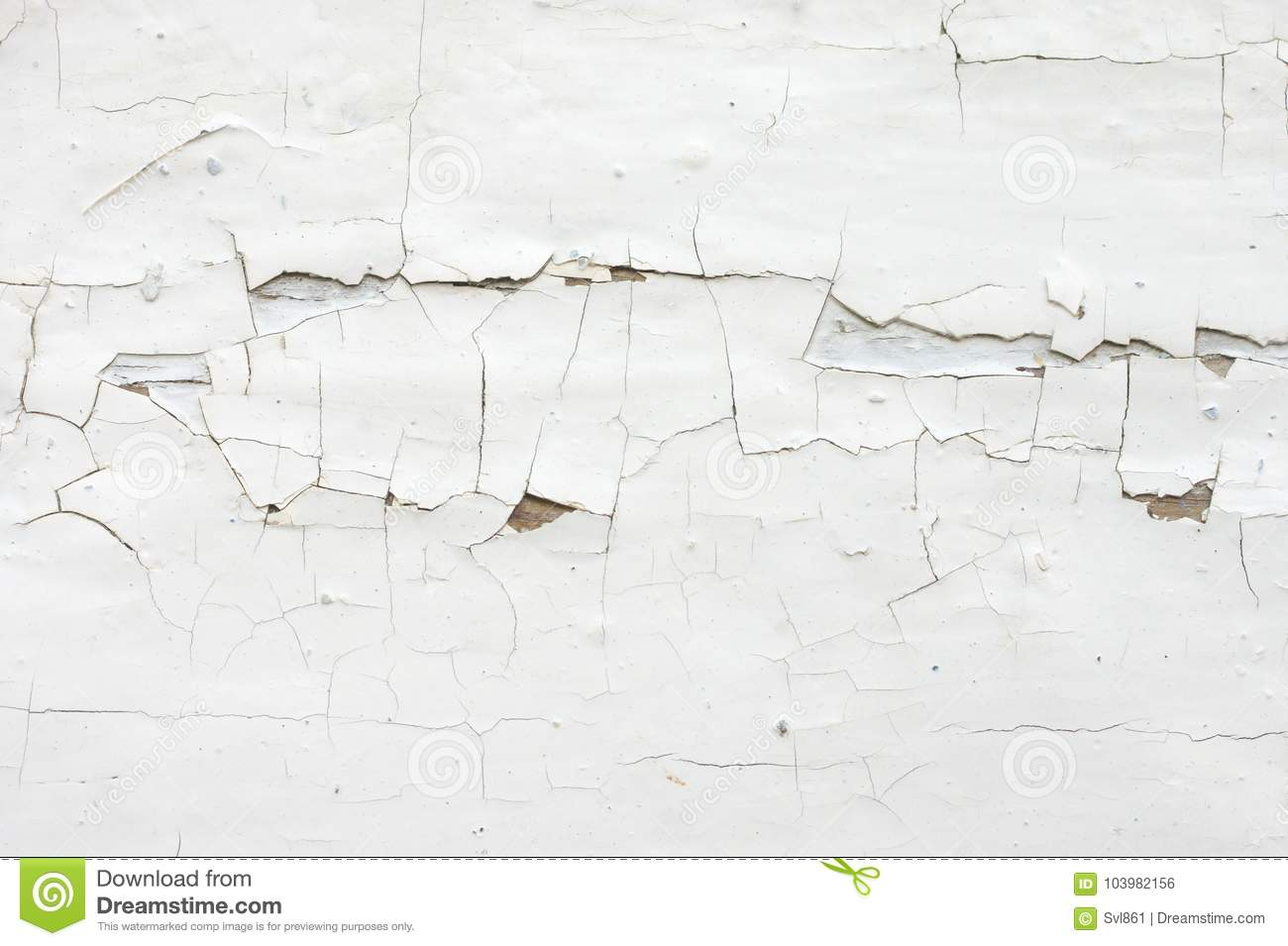 Download Cracked Painted Wood Texture Stock Photo