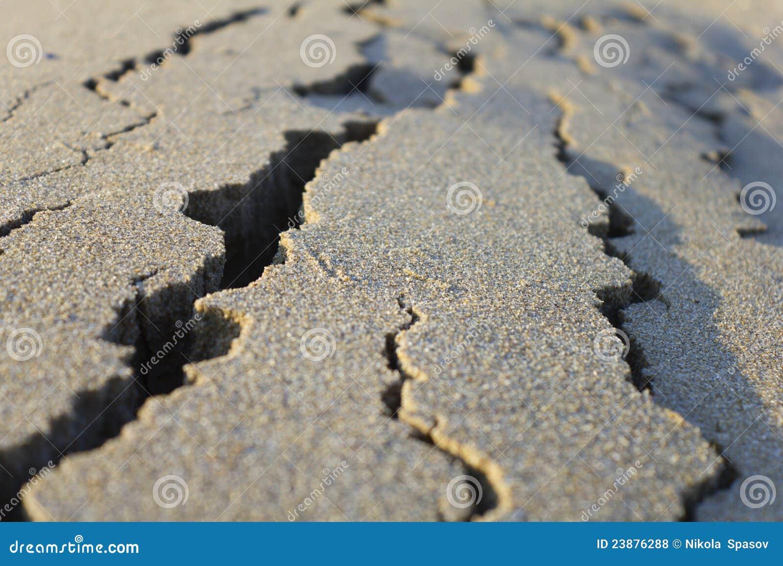 Cracked Sand