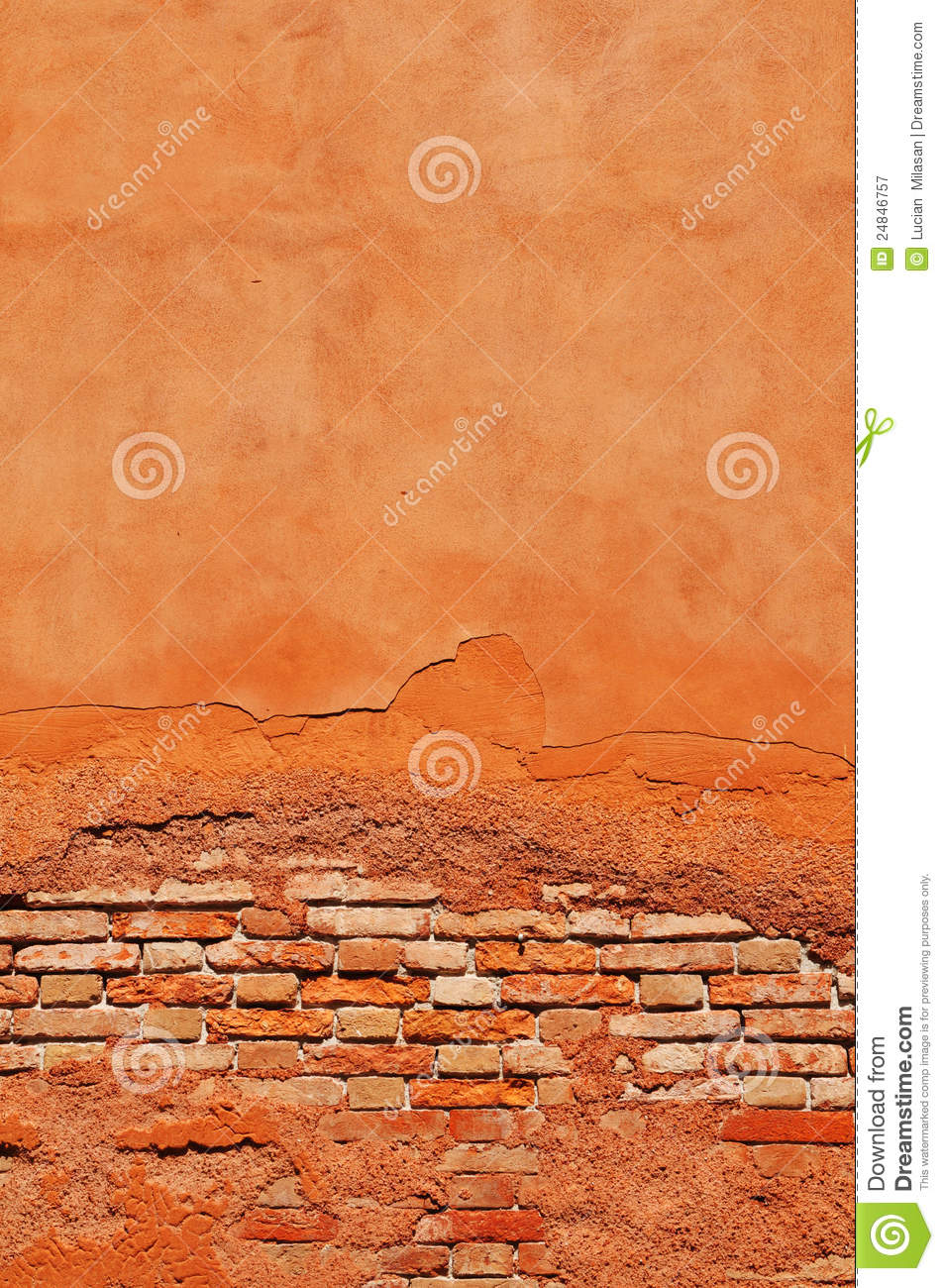how to fix brick crack wall