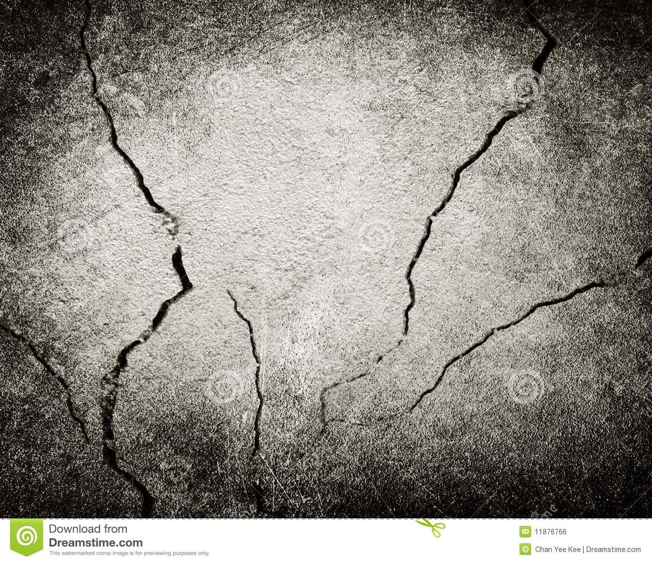 Cracked Wall Background Stock Photo Image Of Danger