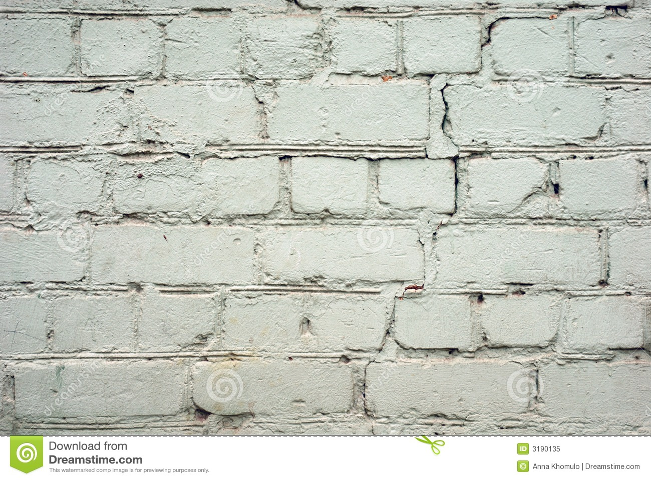 Cracked White Wall Royalty Free Stock Photo - Image: 3190135