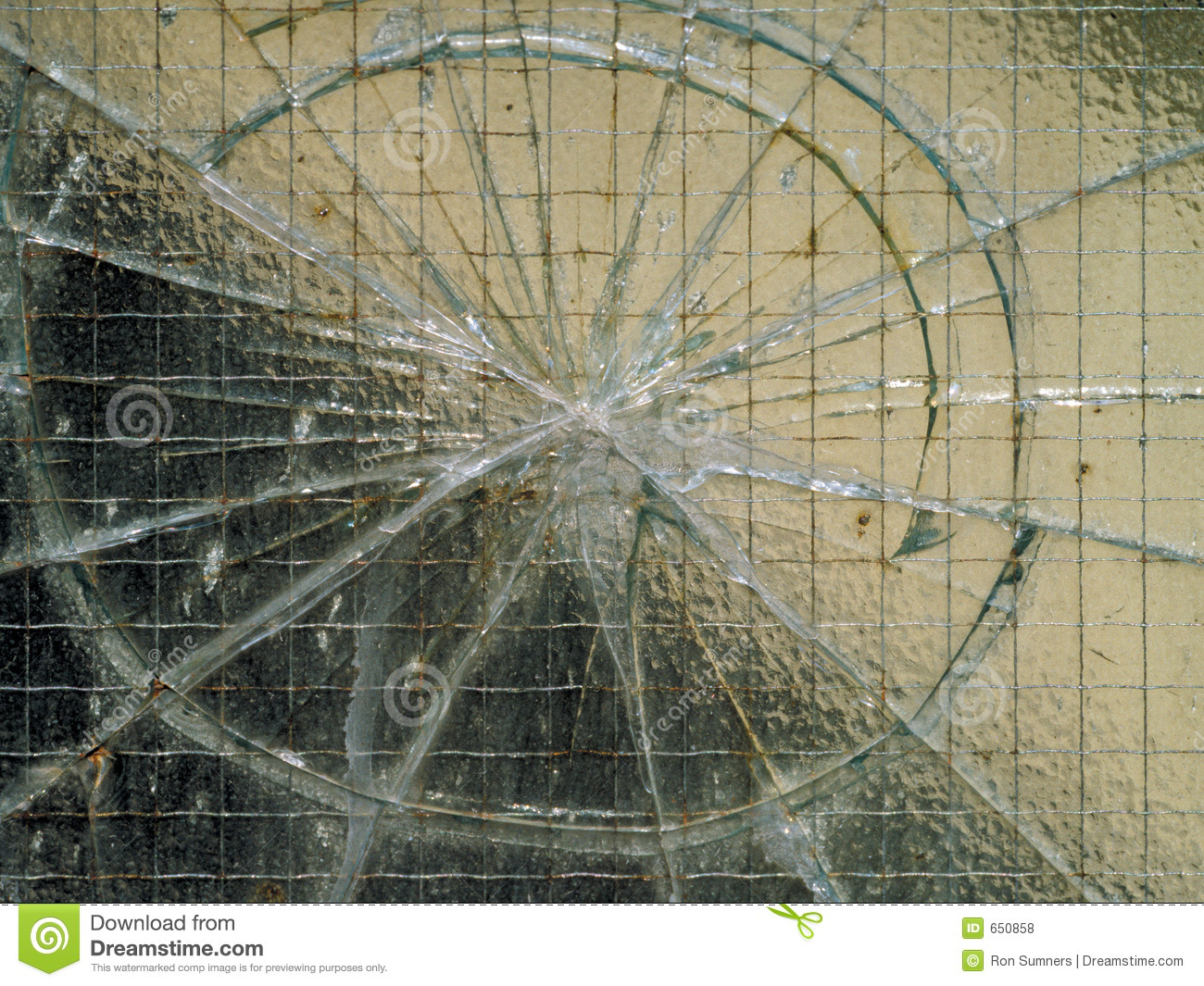 how to draw a cracked window