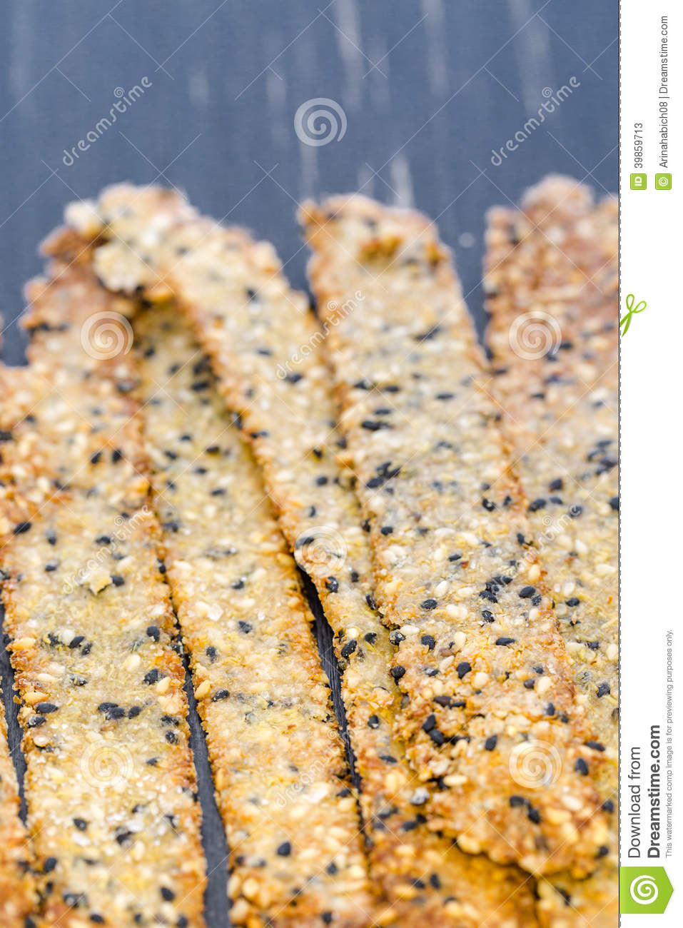 quinoa crackers with seeds - Gluten Free Girl and the Chef