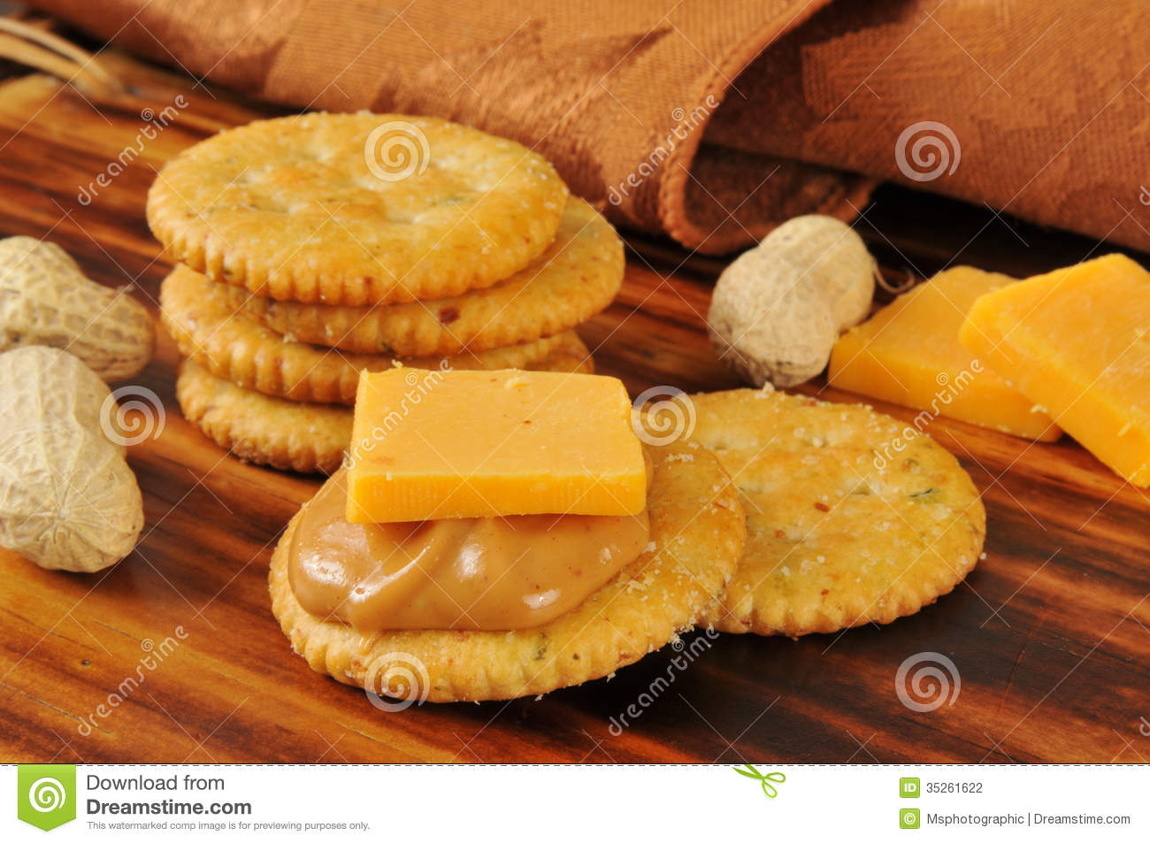 peanut butter and cheese