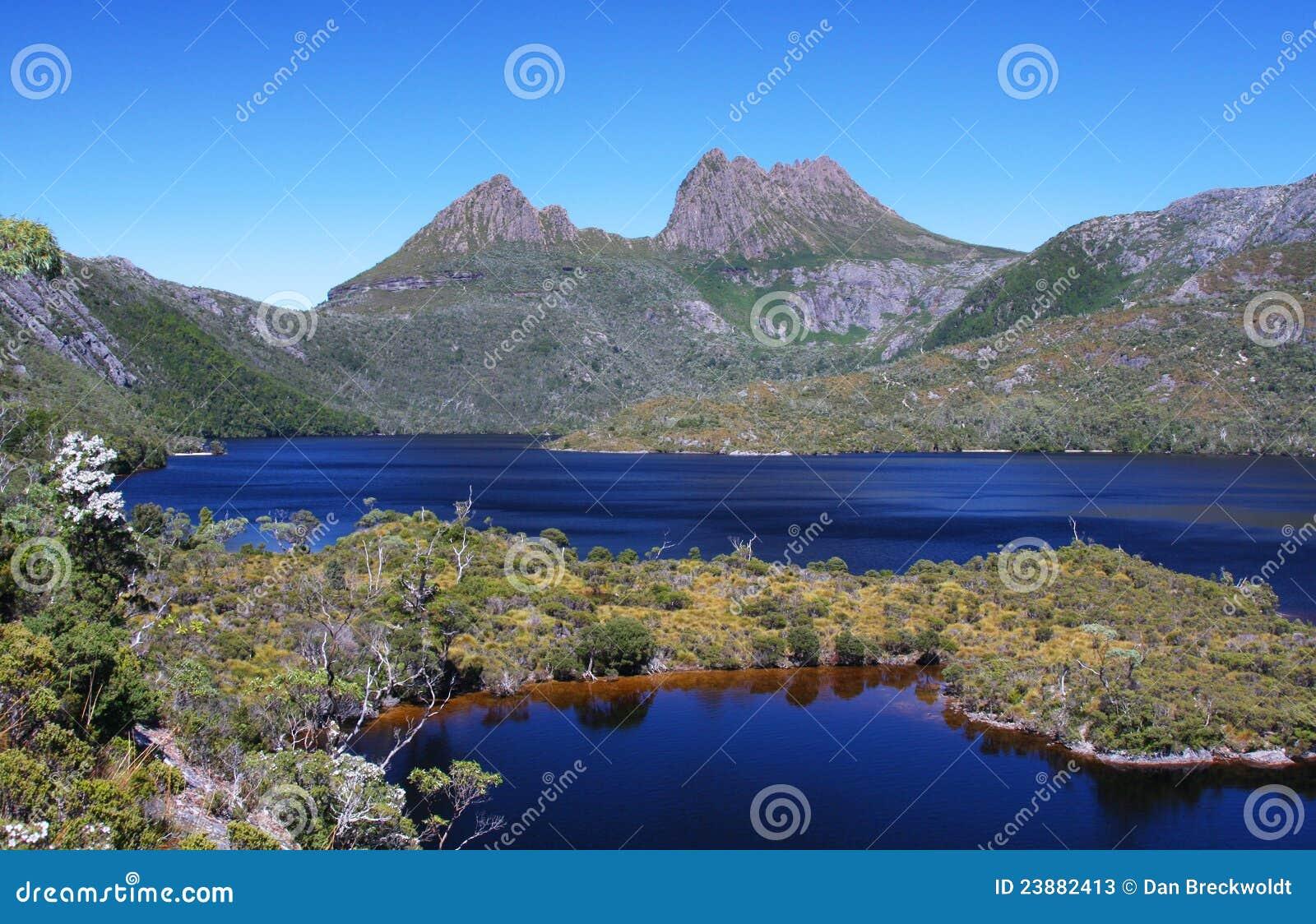 Cradle Mountain Australia  City new picture : Cradle Mountain In Tasmania, Australia Stock Photos Image: 23882413