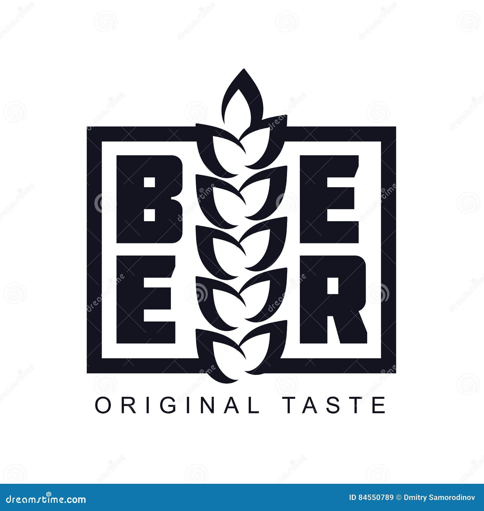 Craft Beer Logo Stock Illustration Illustration Of Ingredient
