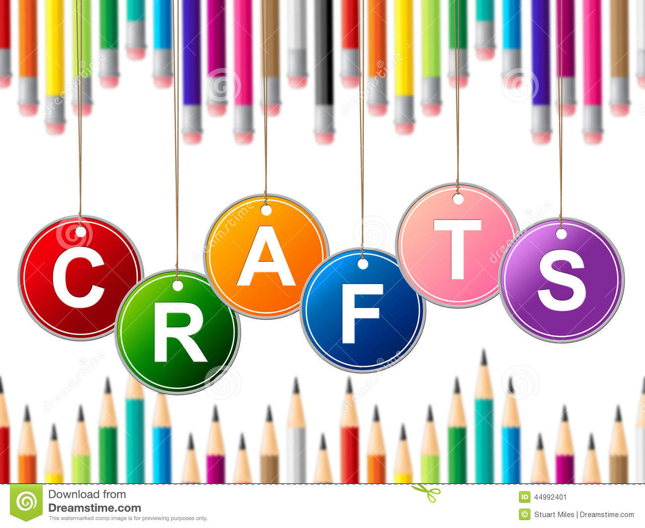 craft crafts indicates drawing arts and artwork stock