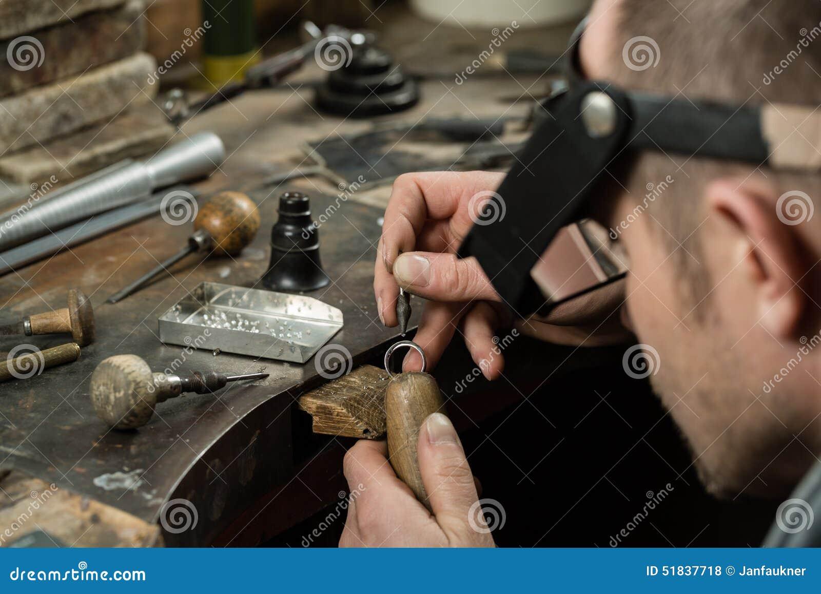 Craft jewelery making.