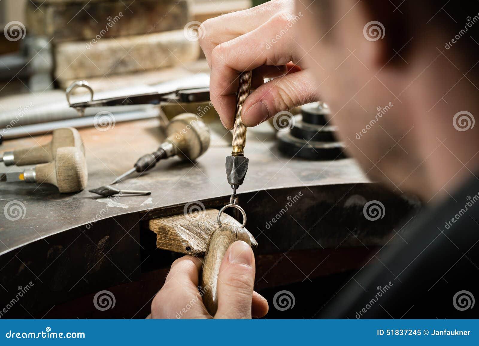 Craft jewellery making.