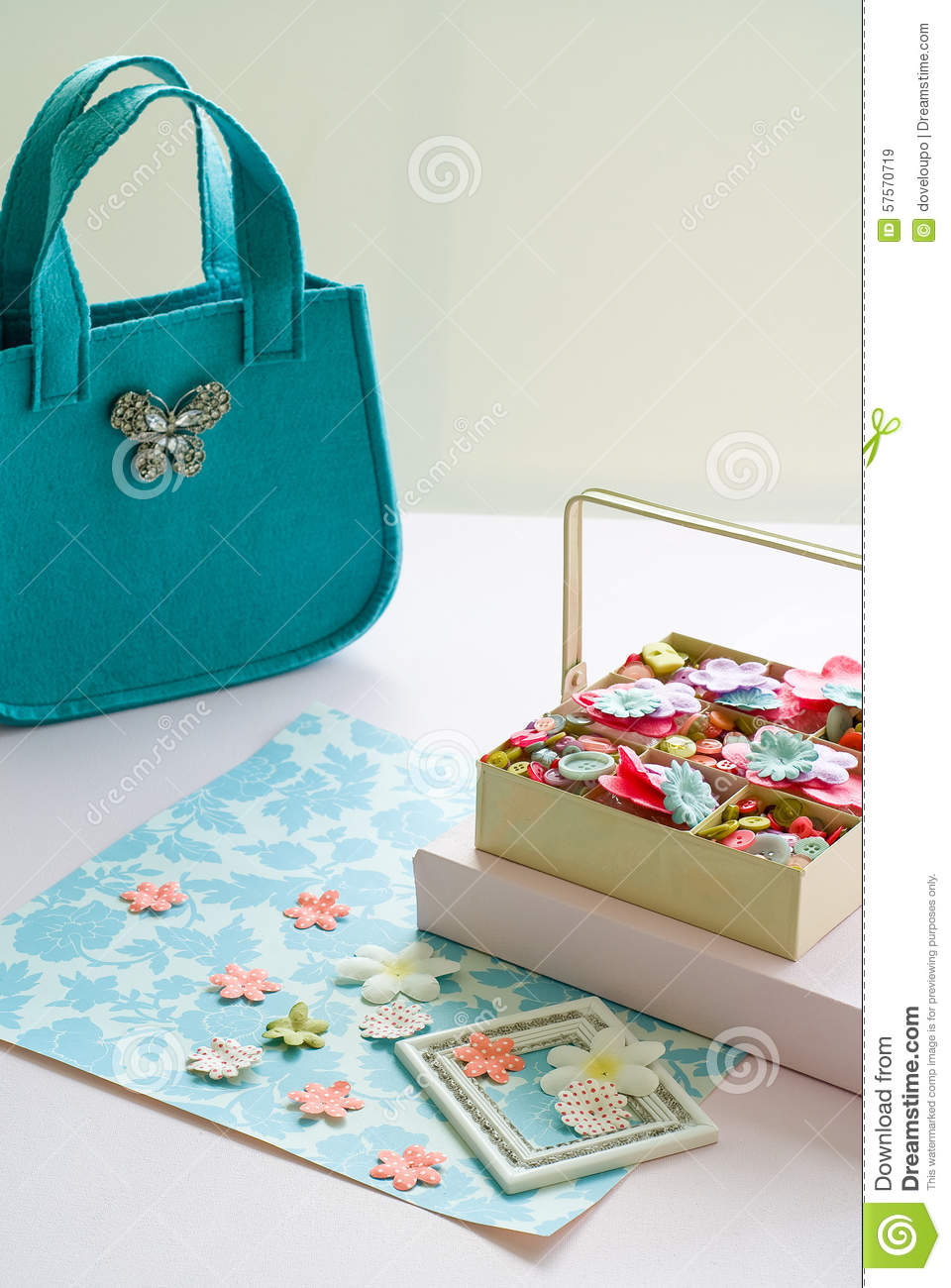 Craft objects stock illustration image 57570719 for Michaels crafts button maker
