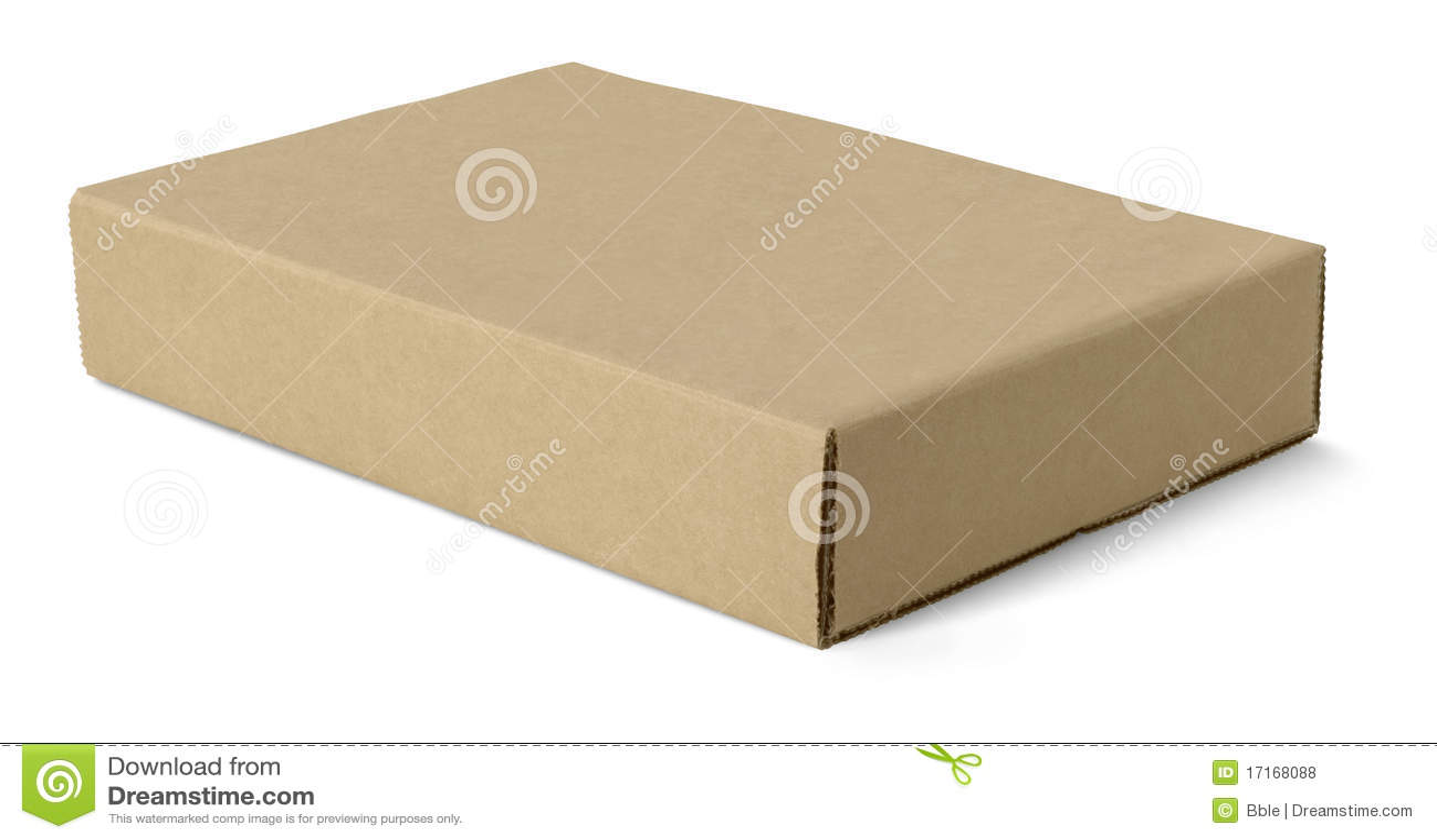 Craft paper box stock photo 17168088 megapixl jeuxipadfo Gallery