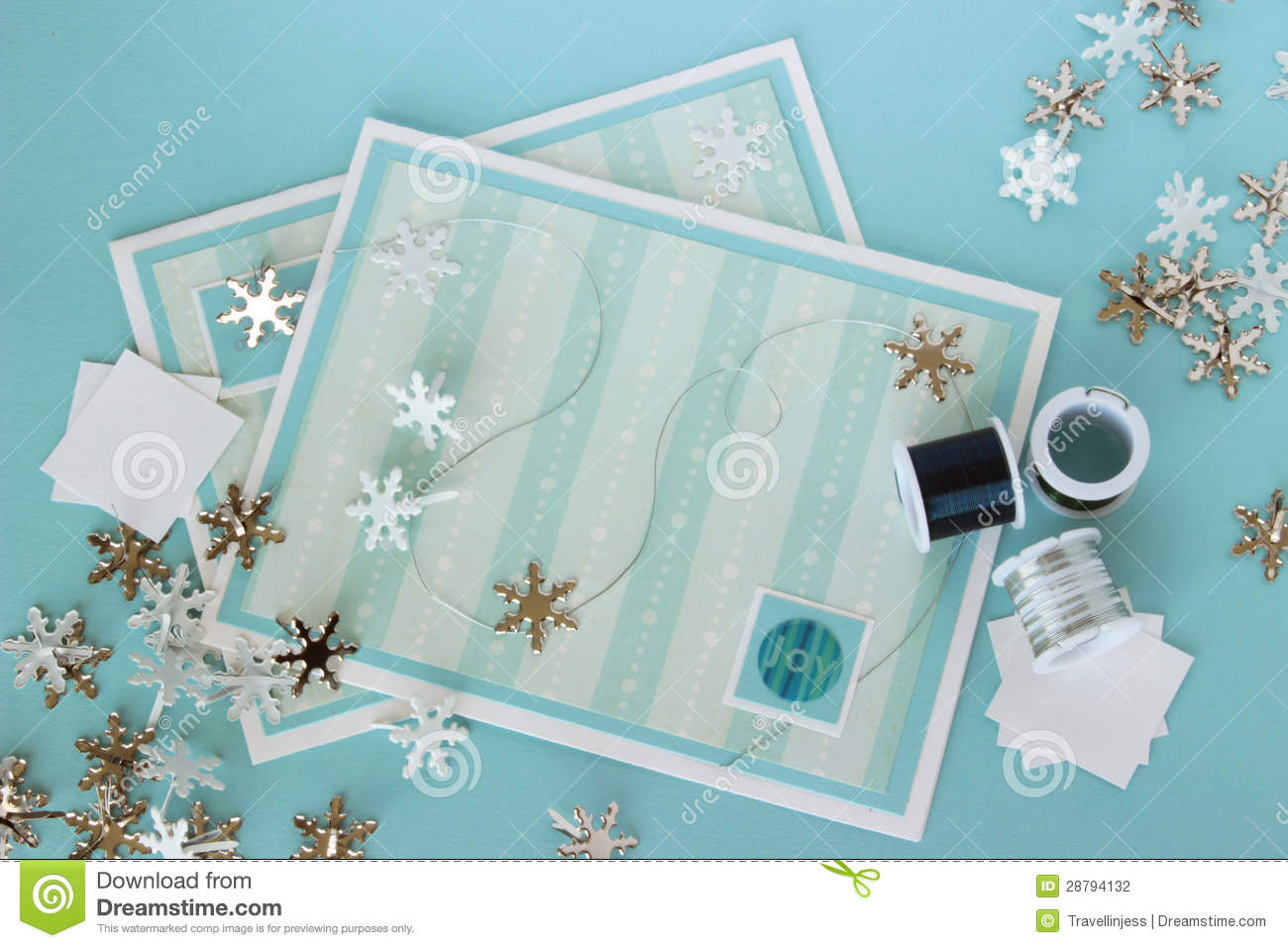 Craft supplies 12 stock photography image 28794132 for Craft supplies for card making