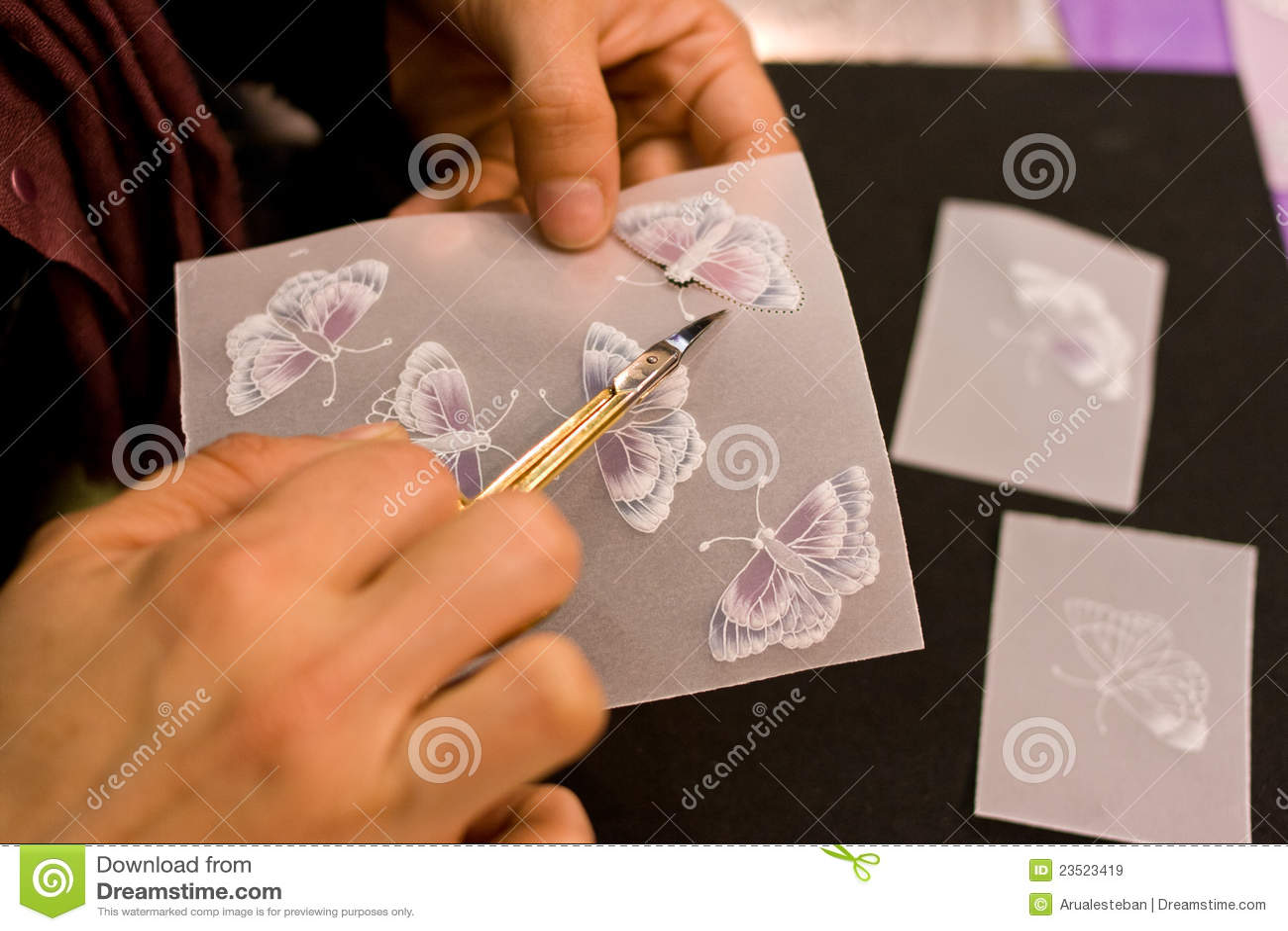 Crafts For Wedding Invitations Stock Illustration - Illustration ...