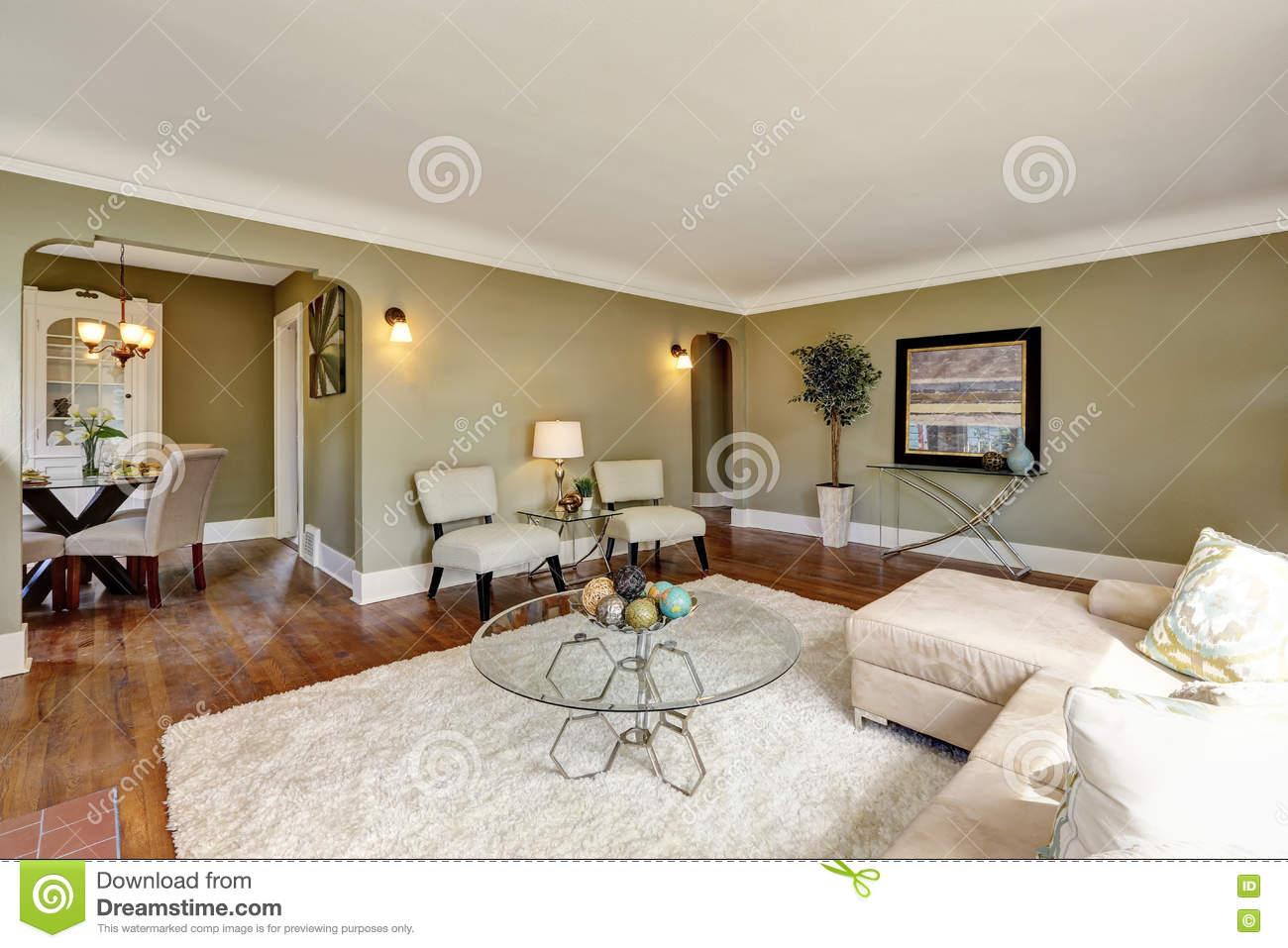 craftsman house living room interior design stock photo image of