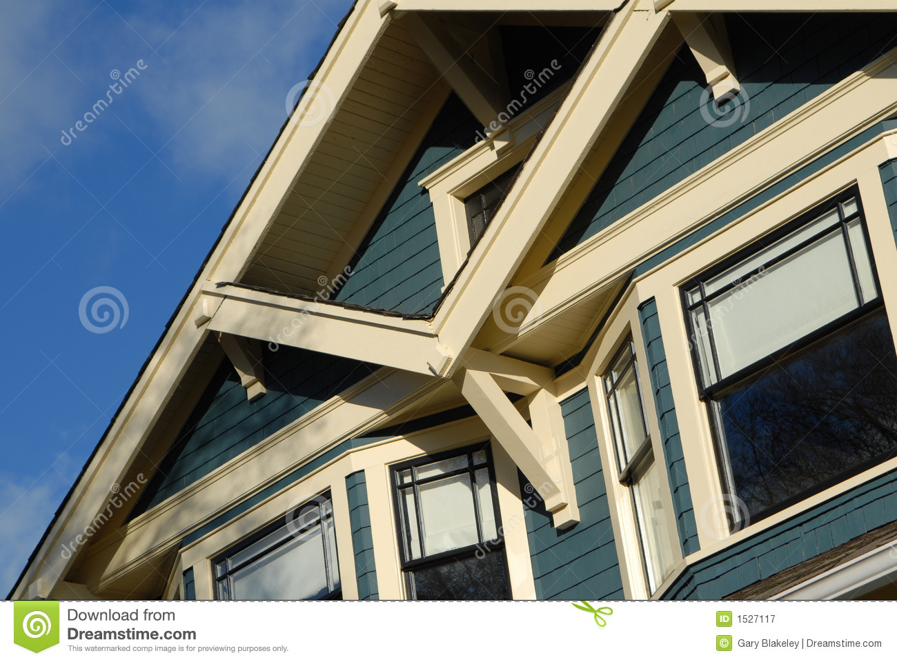 Covered front porch craftsman style home royalty free stock image - Royalty Free Stock Photo Autumn Craftsman House Style Construction Neighbourhood Window Porch
