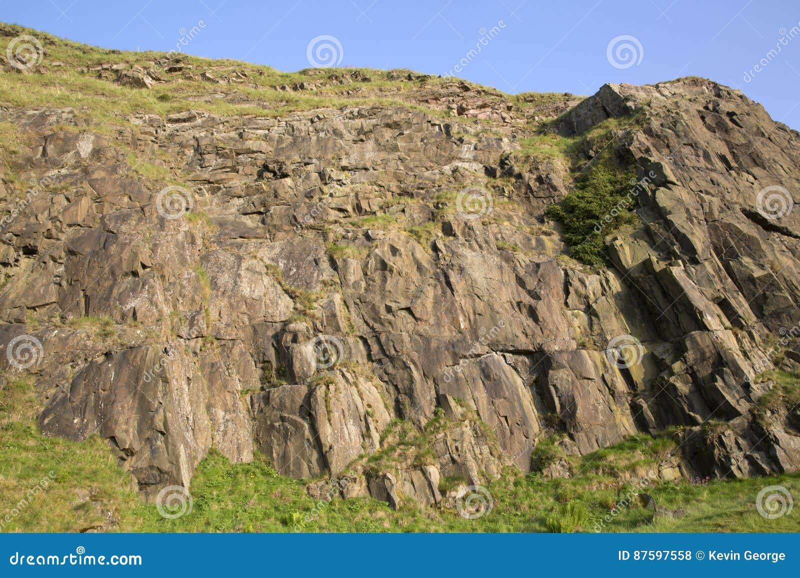 Crags de Salisbúria, parque de Holyrood, Edimburgo