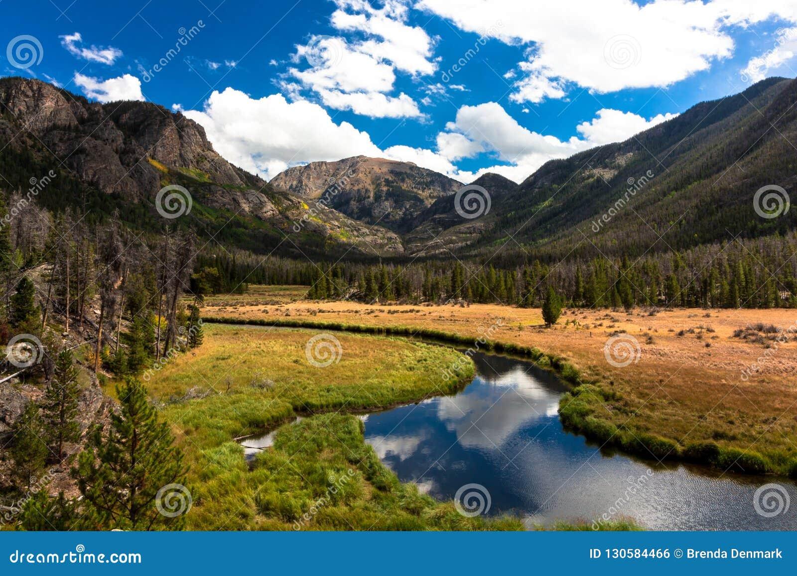 Craig Mountain, großartiger See, Colorado
