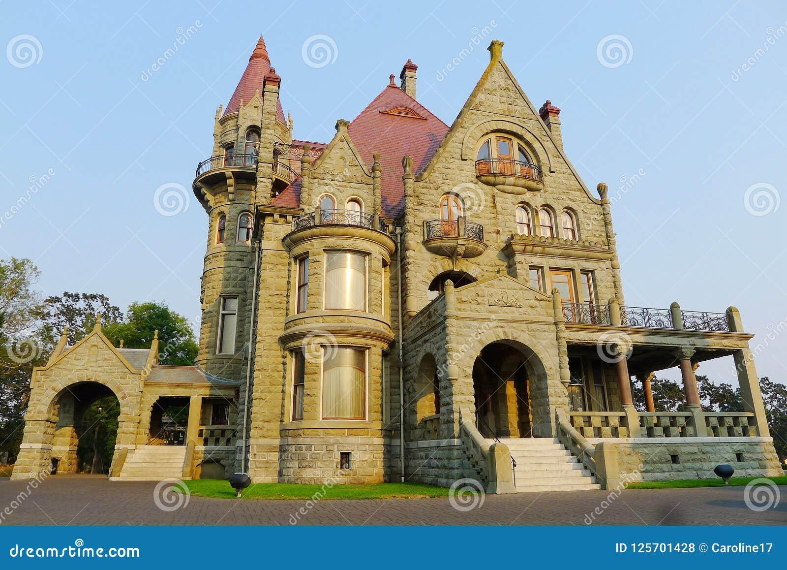 Craigdarroch Castle Victoria British Columbia Stock Photo Image Of Architecture Mansion