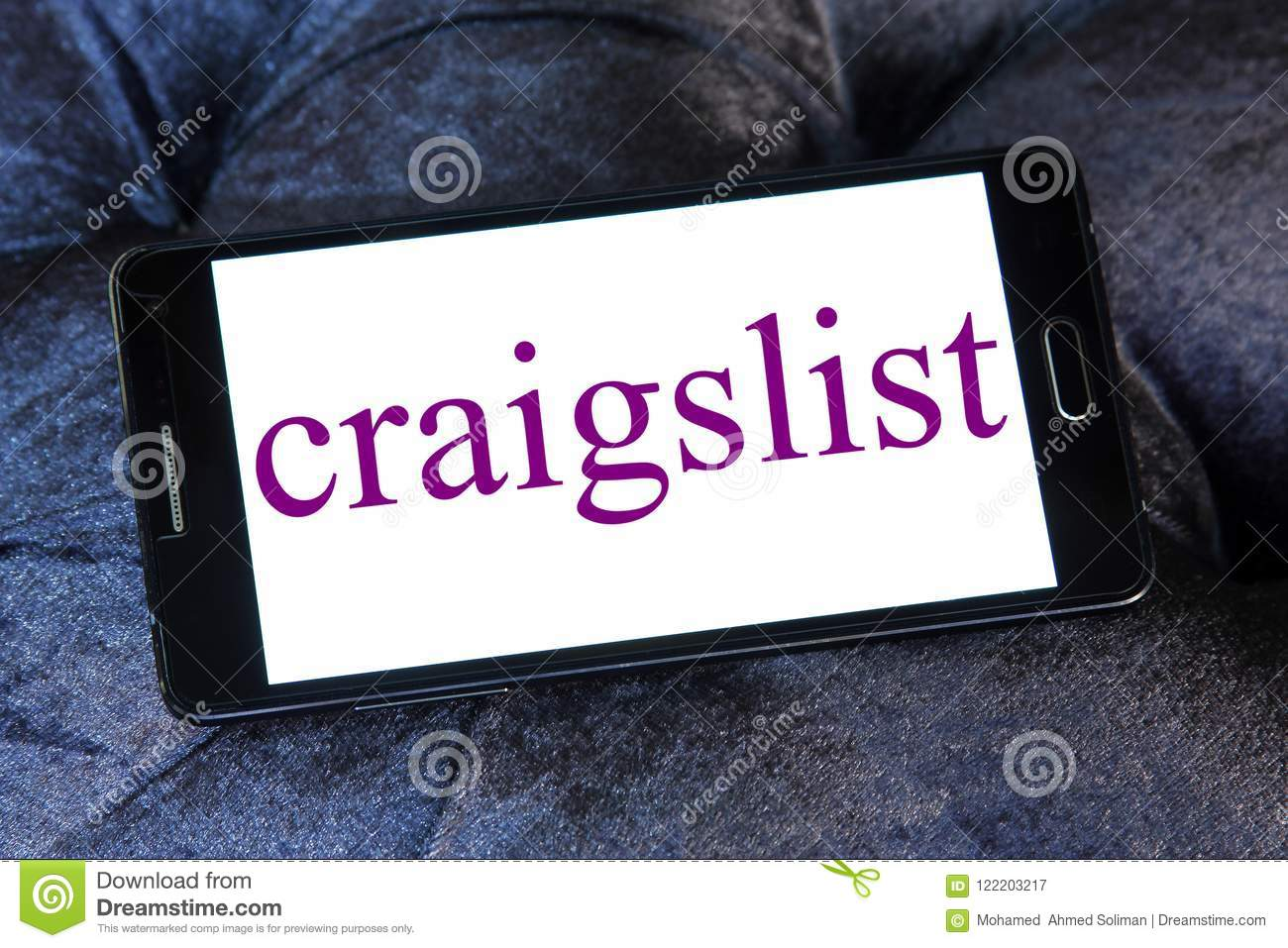 Craigslist Classified Advertisements Website Logo Editorial