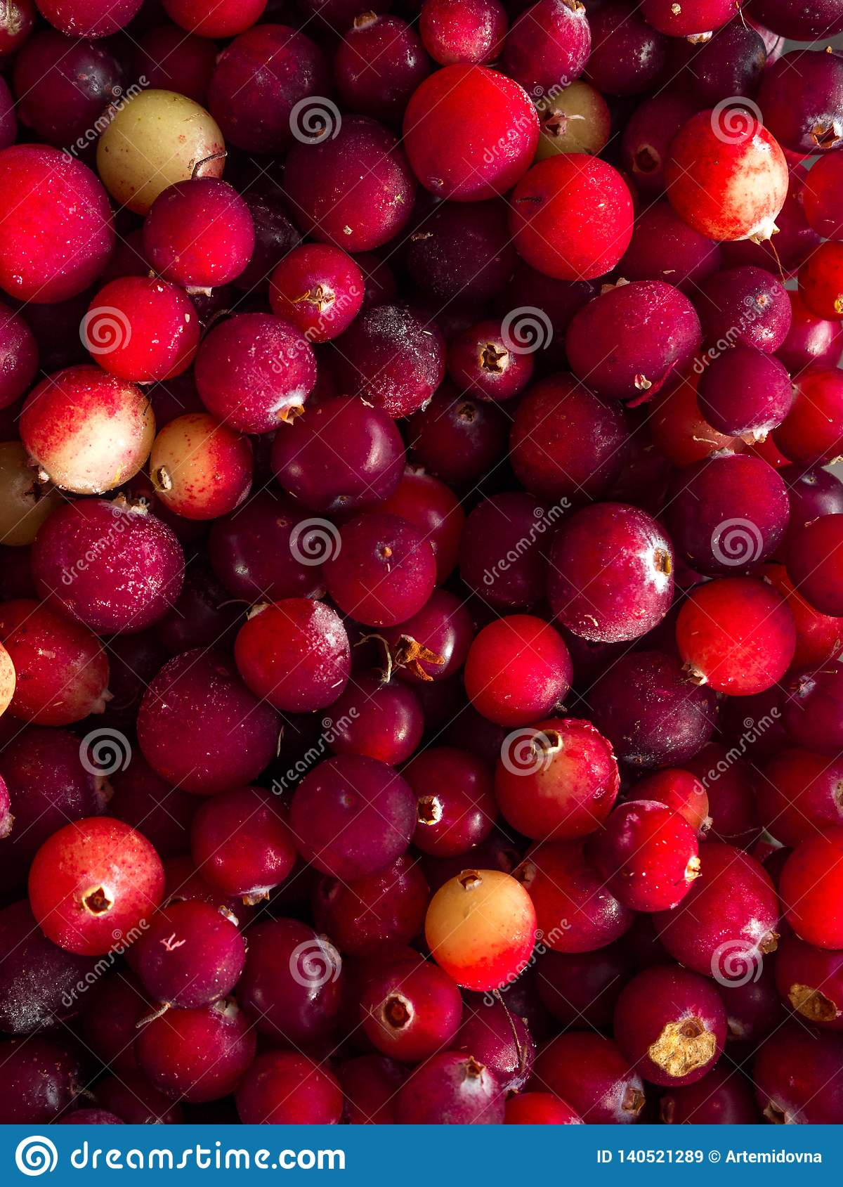 Cranberry. Cranberry background. Food background